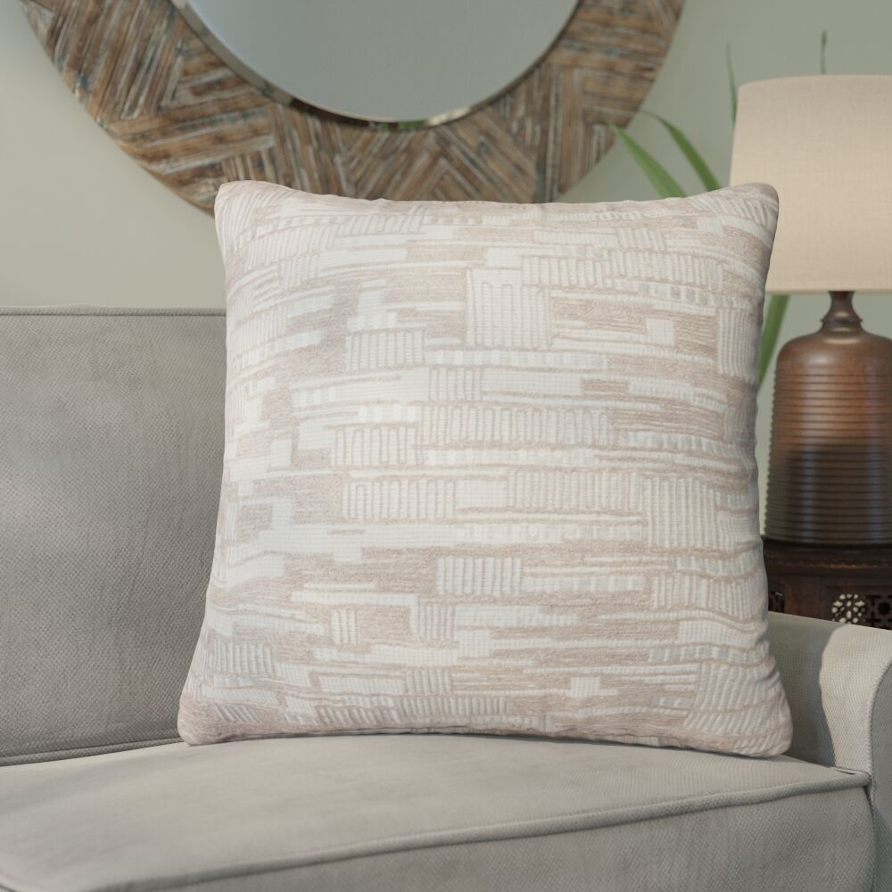 Cambell Cotton Throw Pillow Fill Material: Polyester/Polyfill, Type: Pillow