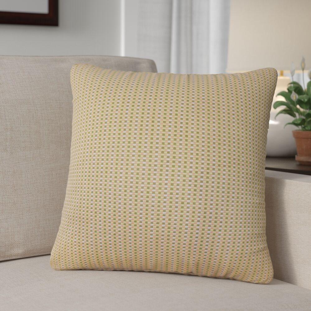 Alfon Woven Down Filled Throw Pillow Size: 24