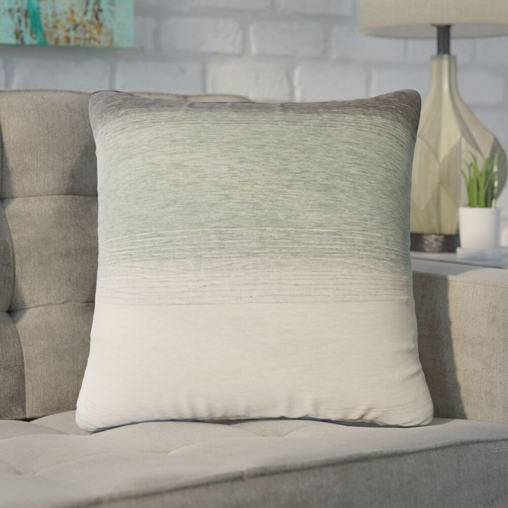 Wigington Ombre Down Filled Throw Pillow Size: 22