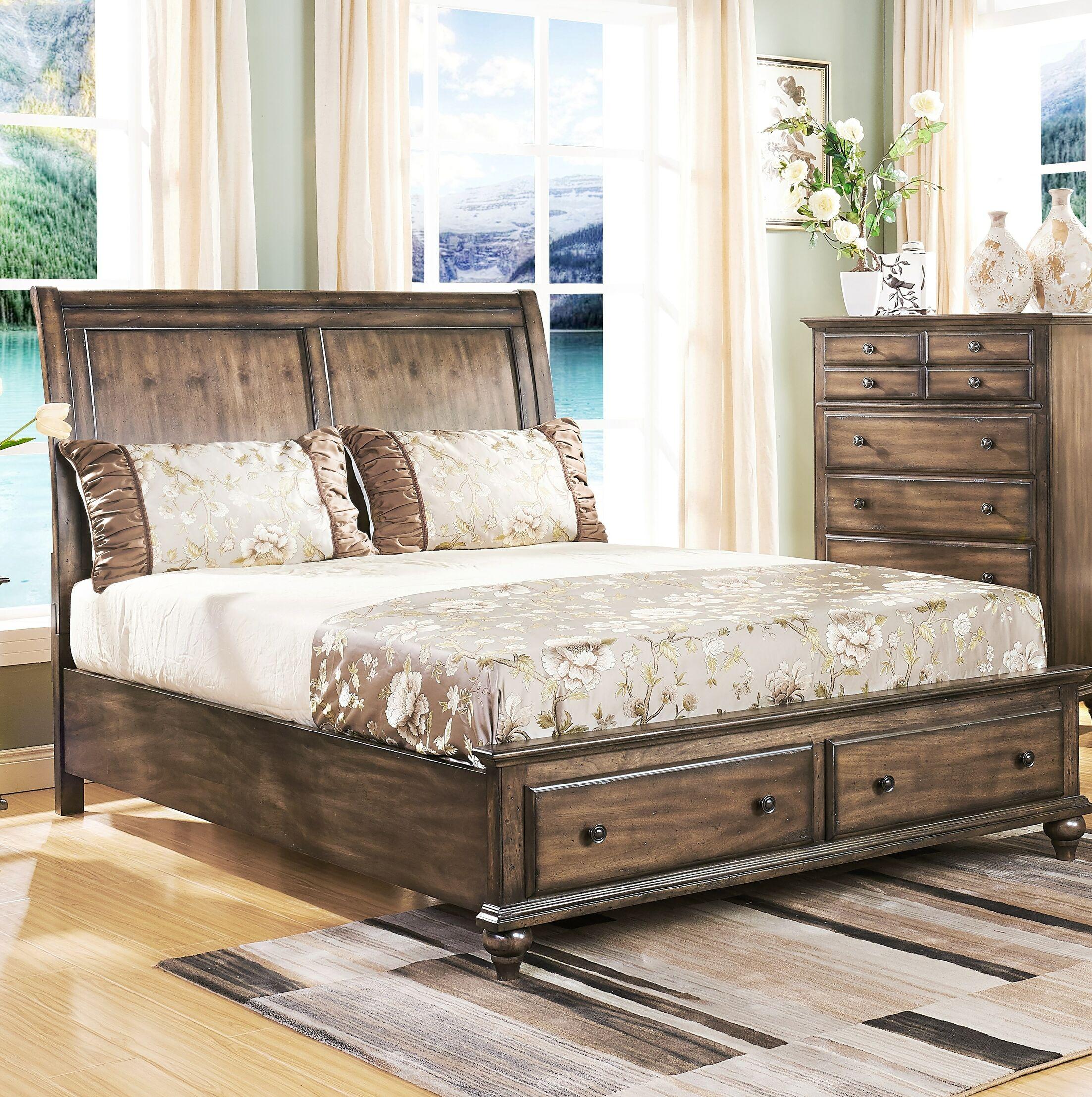 Gabriele Storage Platform Bed Size: King
