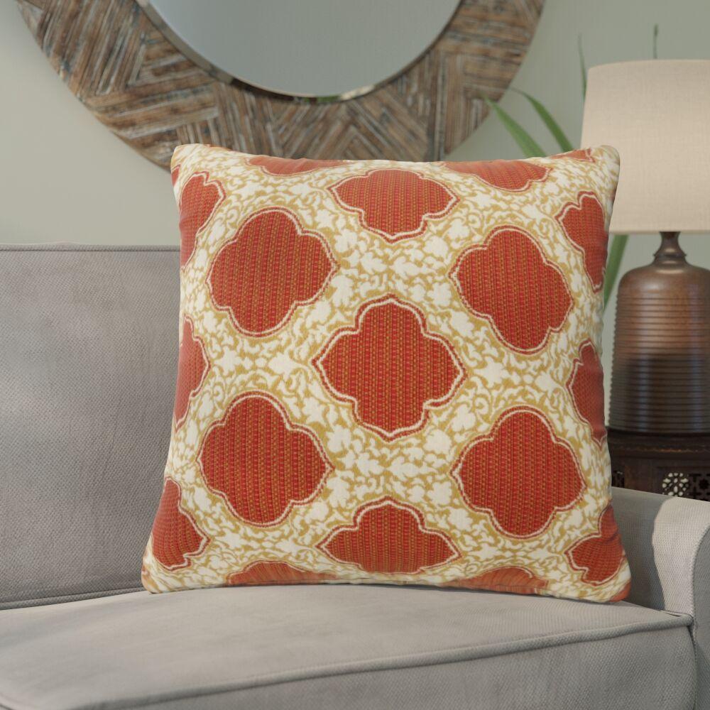 Socorro Contemporary Throw Pillow Size: 22