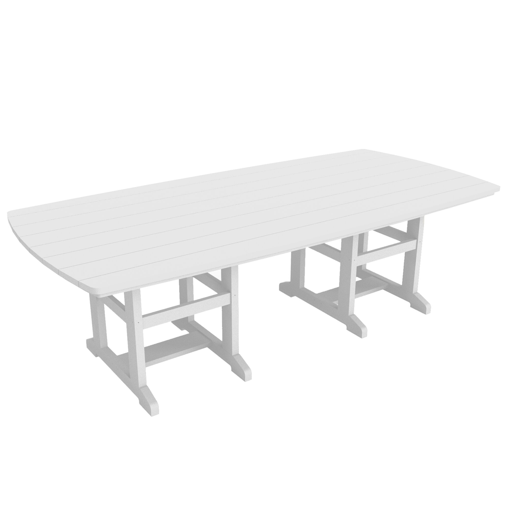 Kersten Plastic/Acrylic Dining Table Size: 29
