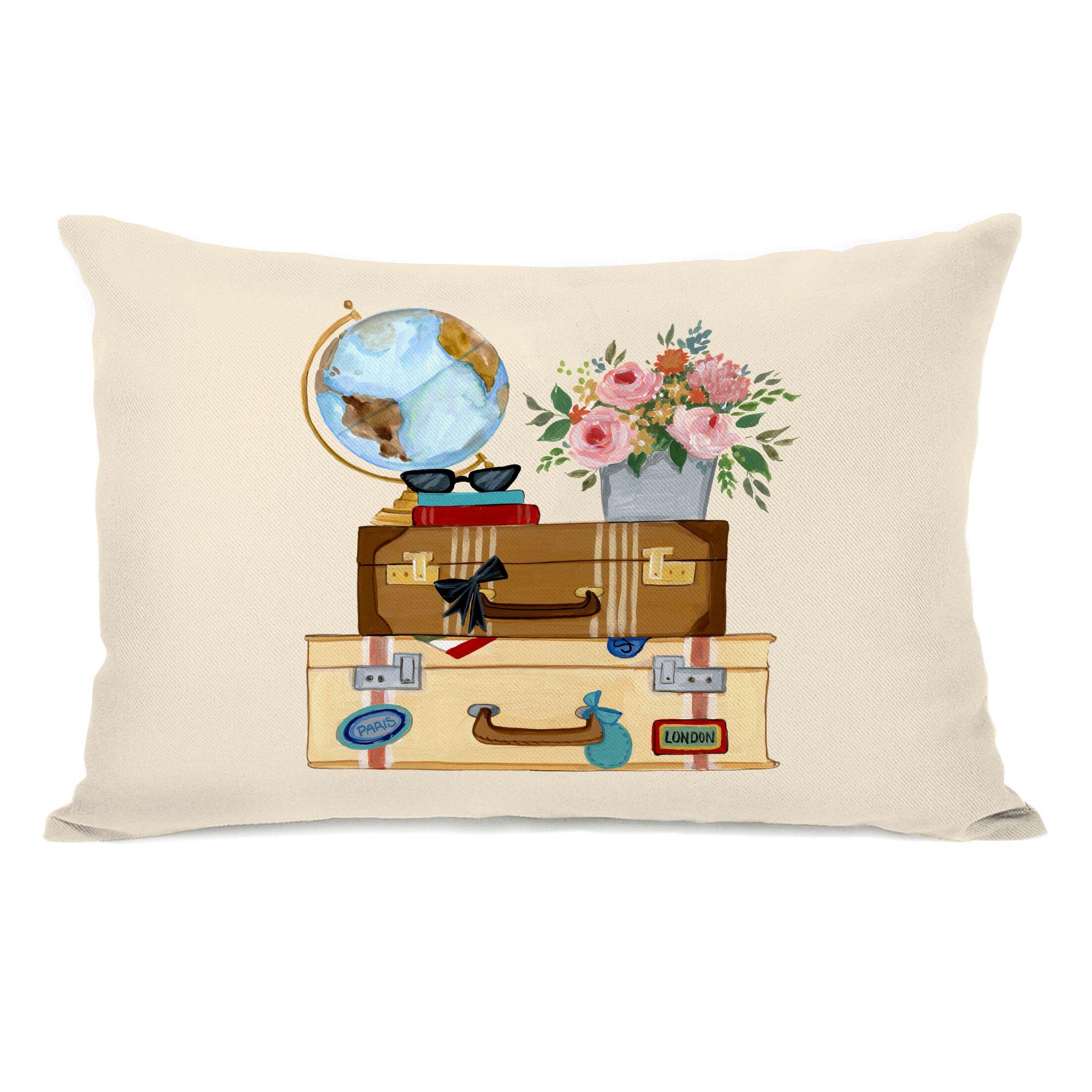 Corder Travel Things Lumbar Pillow