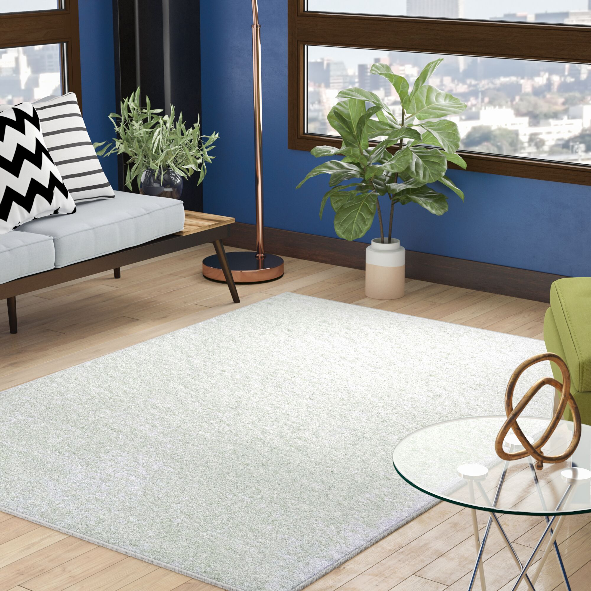 Fick Ivory Area Rug Rug Size: Rectangle 10' x 13'