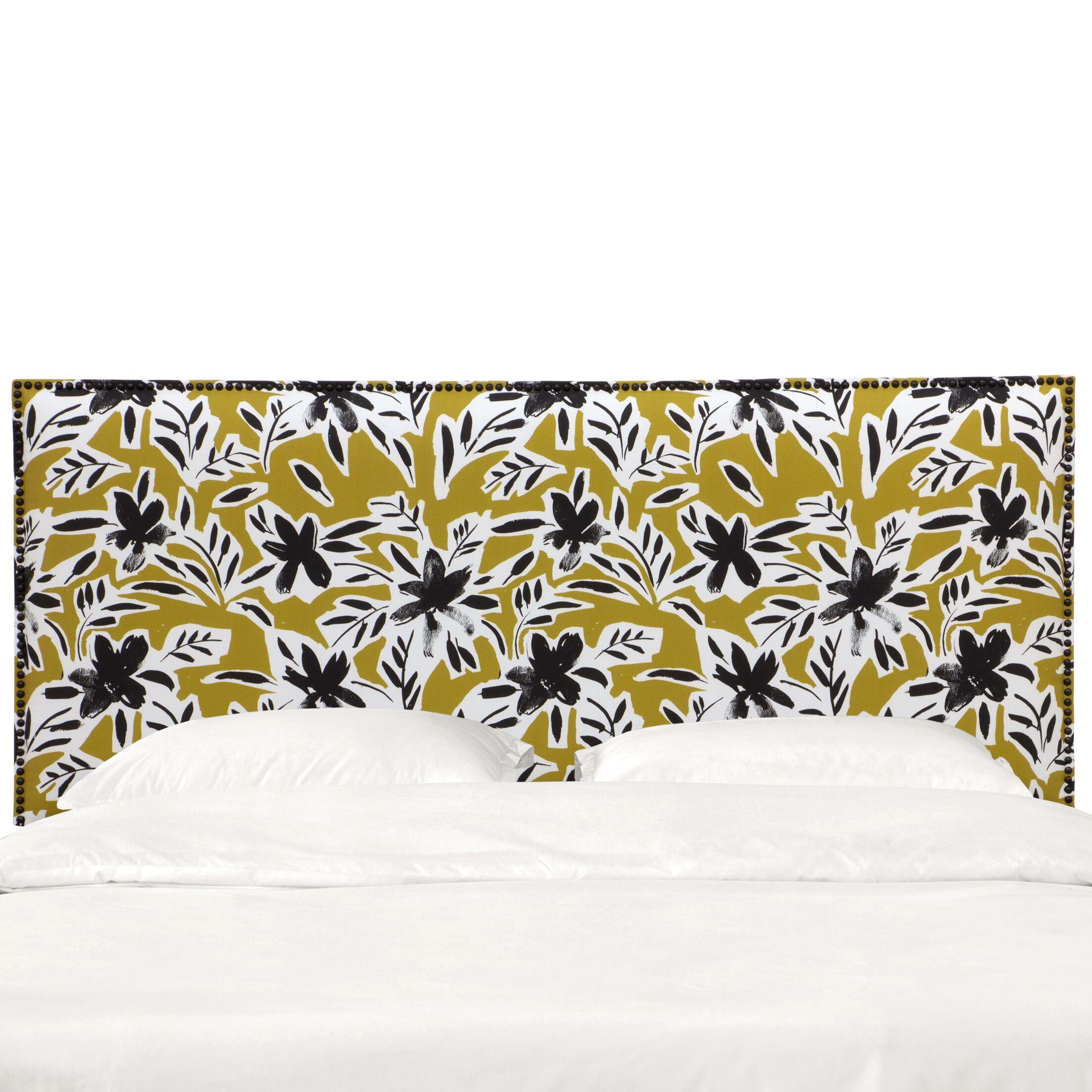 Grissett Upholstered Panel Headboard Size: Twin