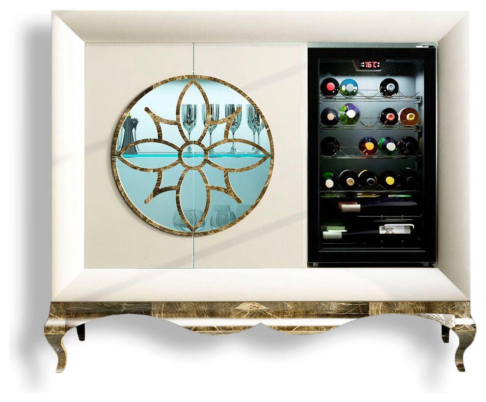 Lilou Bar Cabinet Color: Matte