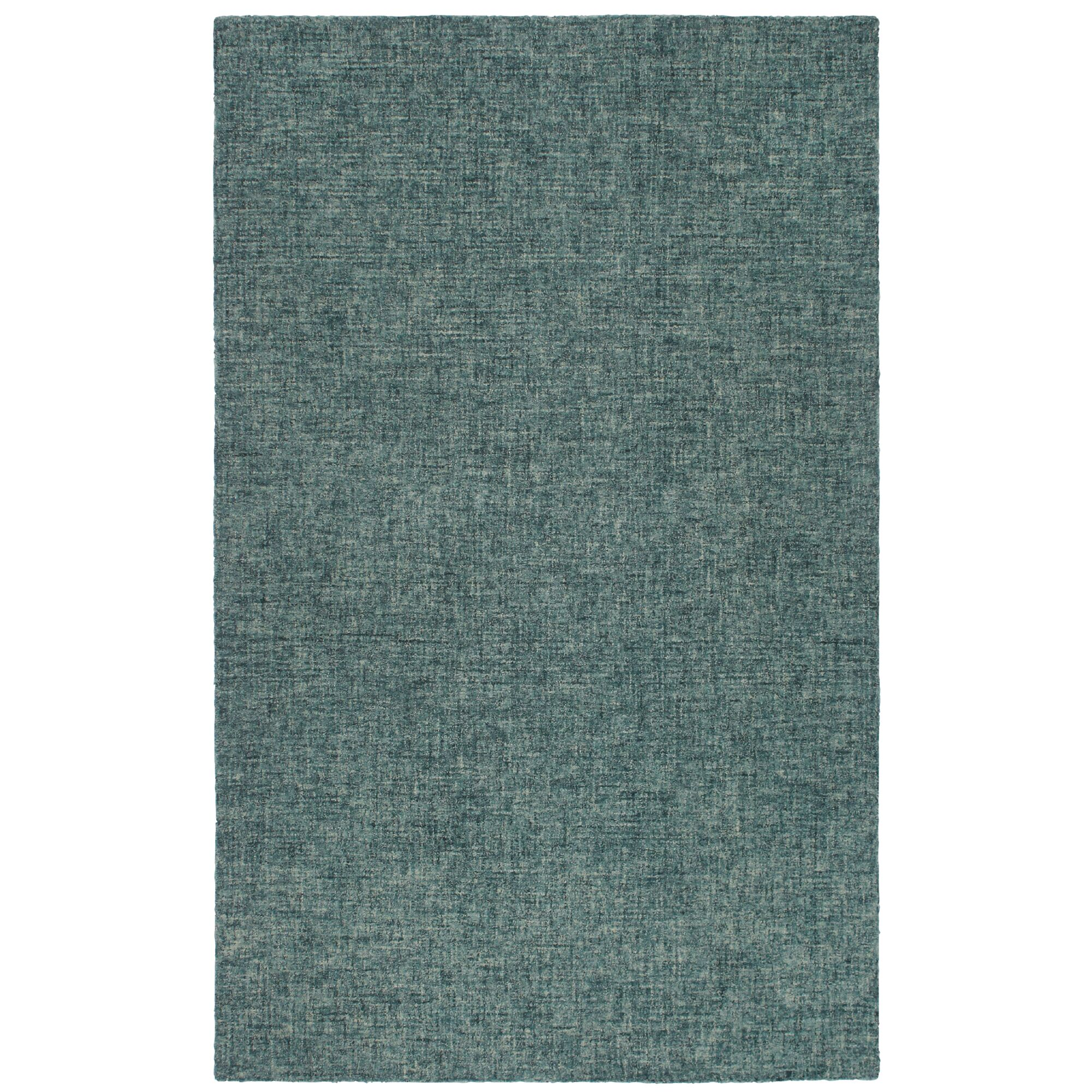 Finkelstein Hand-Tufted Wool Green Area Rug Rug Size: Square 8'