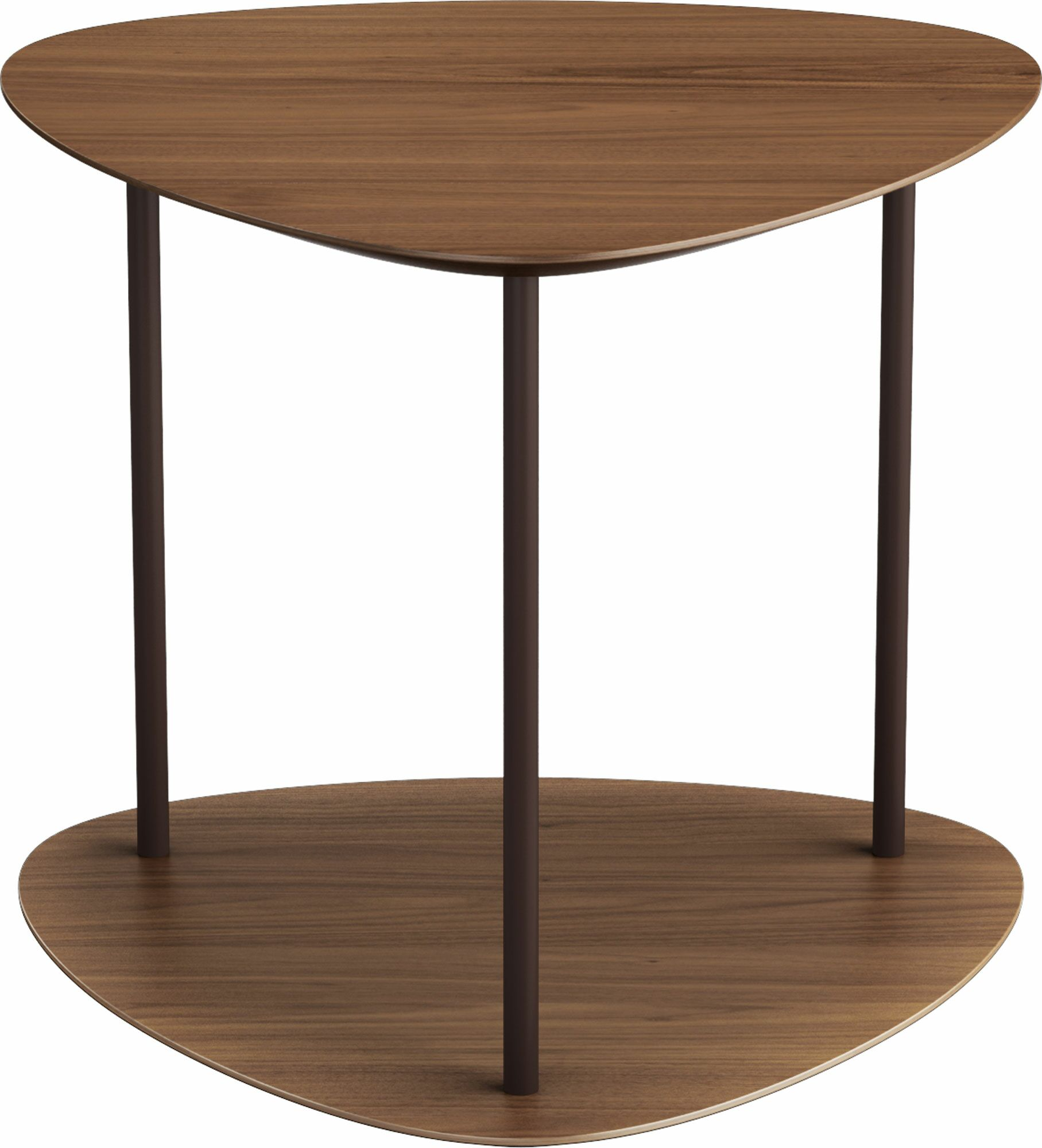 Finsbury End Table Color: Walnut