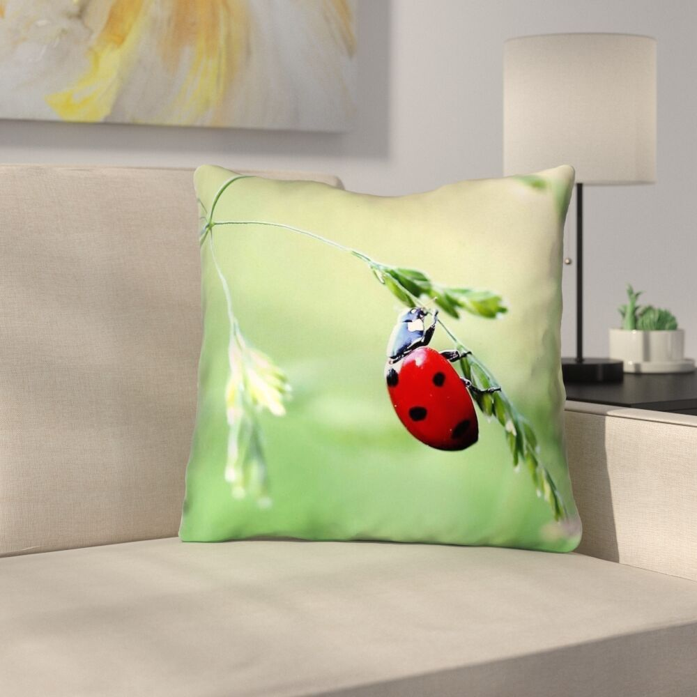 Duriel Double Sided Print Zipper Throw Pillow Size: 20