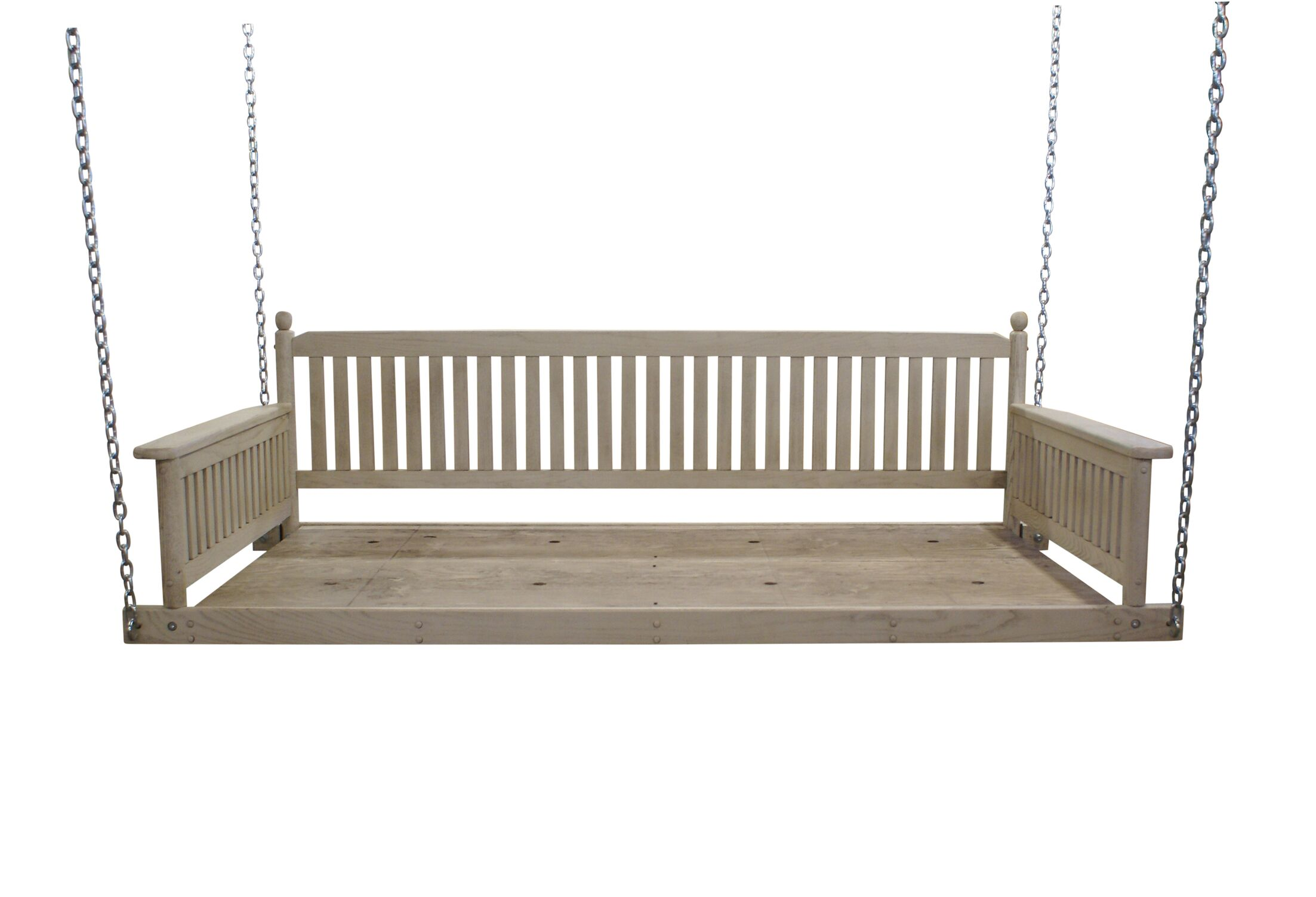 Cano Day Bed Porch Swing Finish: Antique Stone