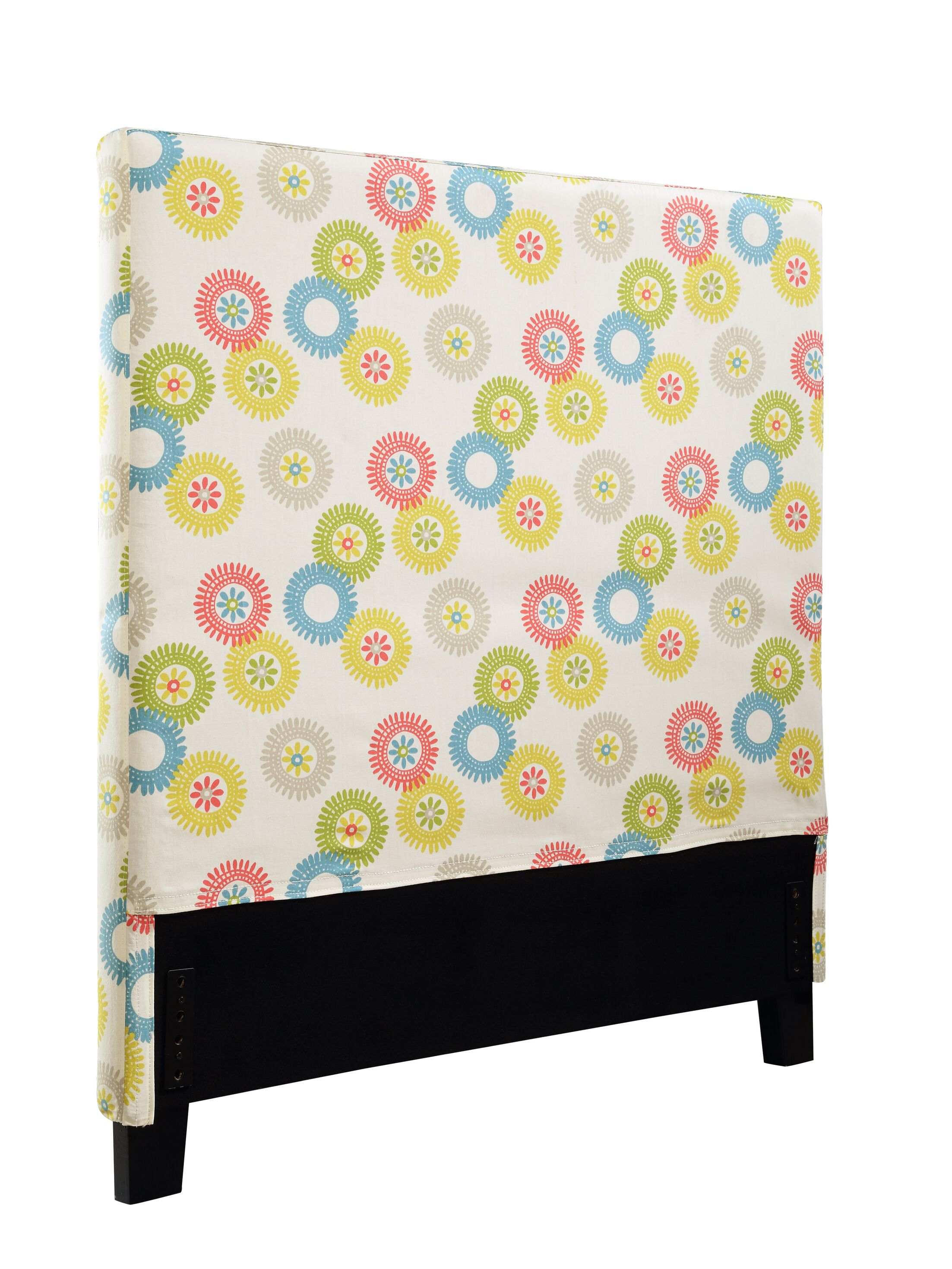 Felty Wheels N Motion Upholstered Panel Headboard Size: Full/Queen
