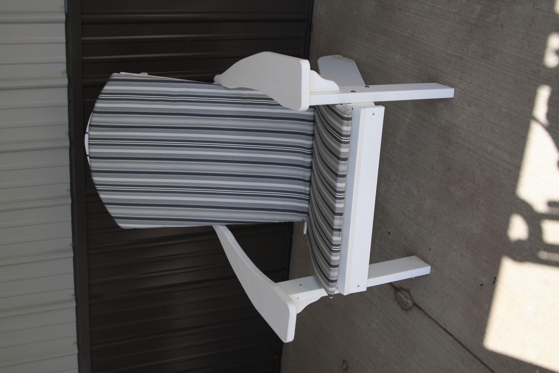 Agora Full Indoor/Outdoor Adirondack Chair Cushion Fabric: Gray