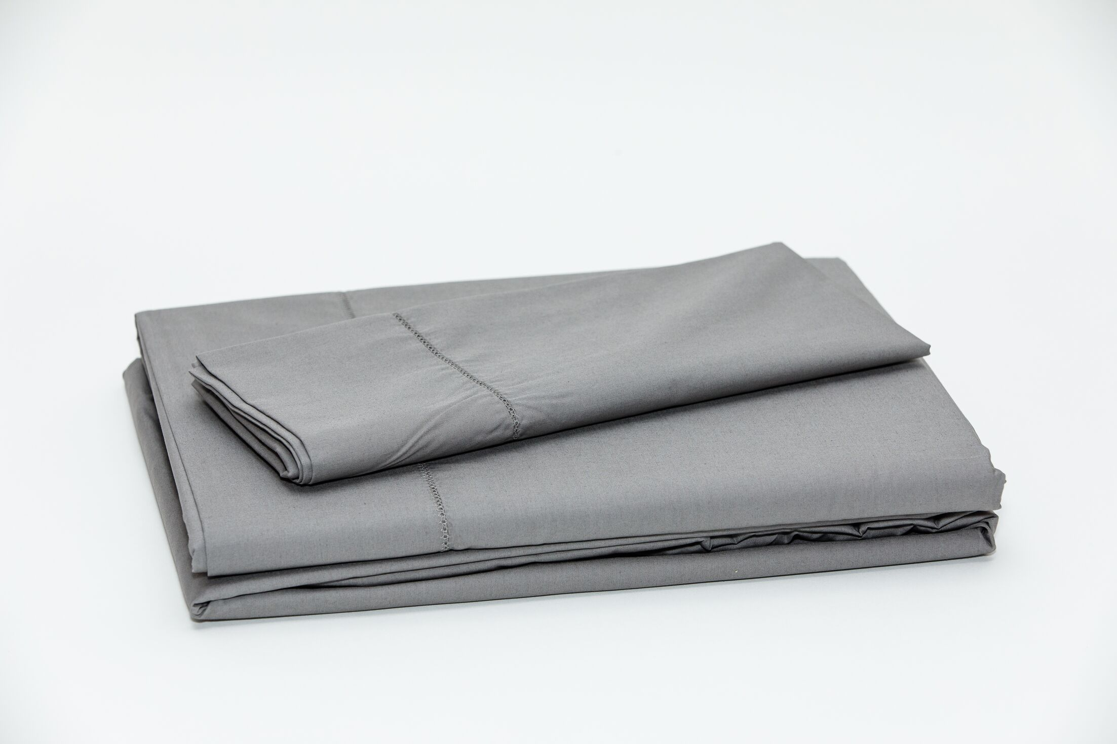 Eugene 250 Thread Count 100% Cotton Sheet Set Color: Dark Gray, Size: Twin