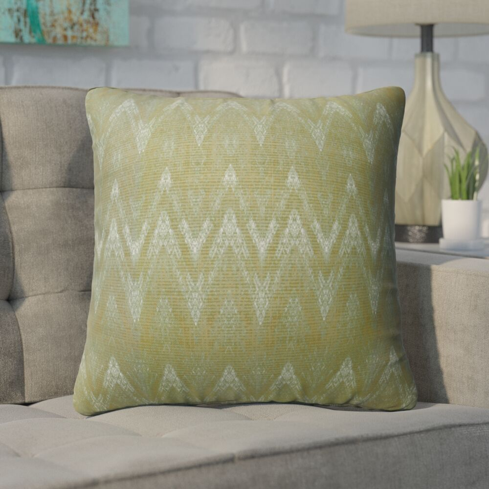 Marshall Green Indoor/Outdoor Throw Pillow Size: 26