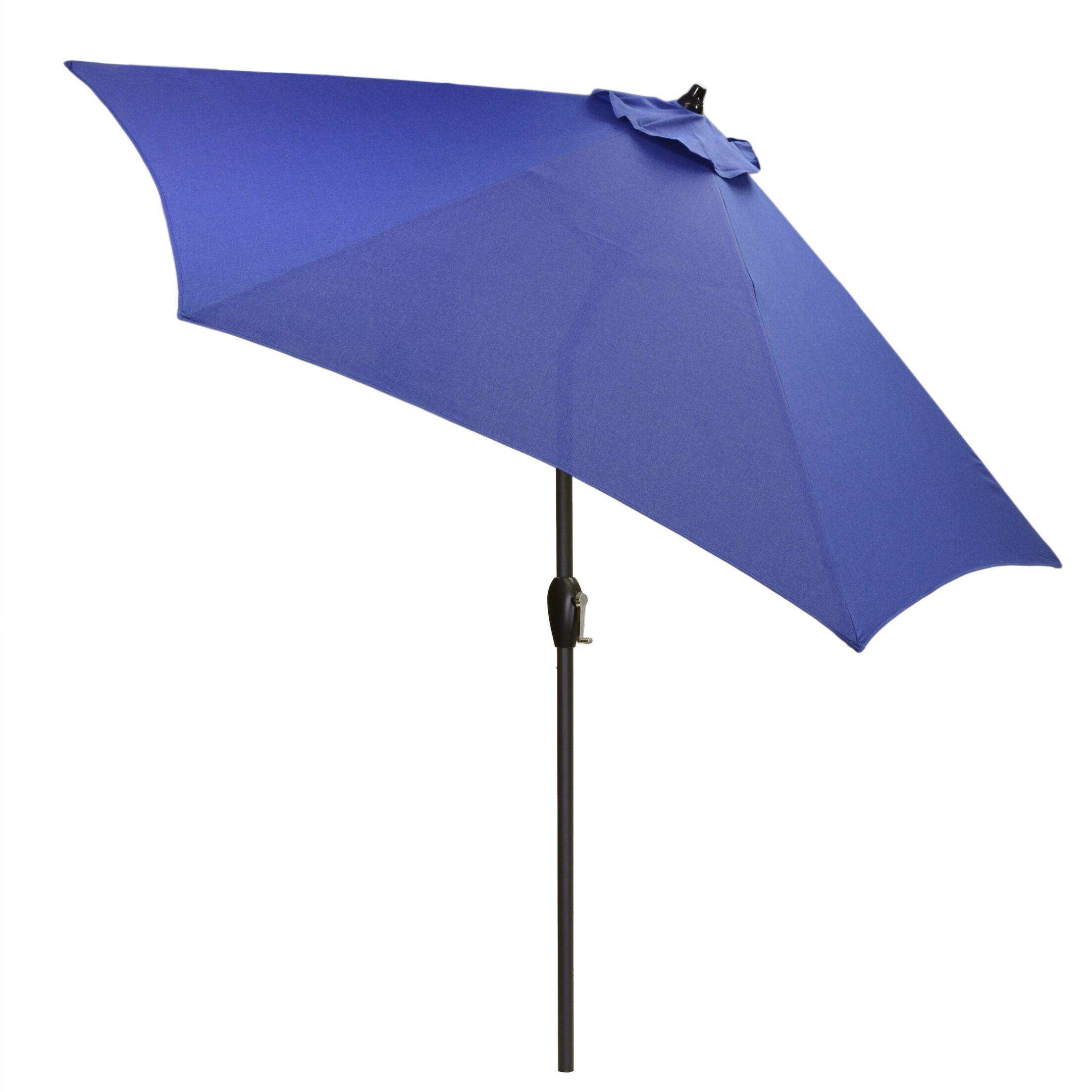 Hulme Solid 8.9' Market Umbrella Fabric Color: Cobalt