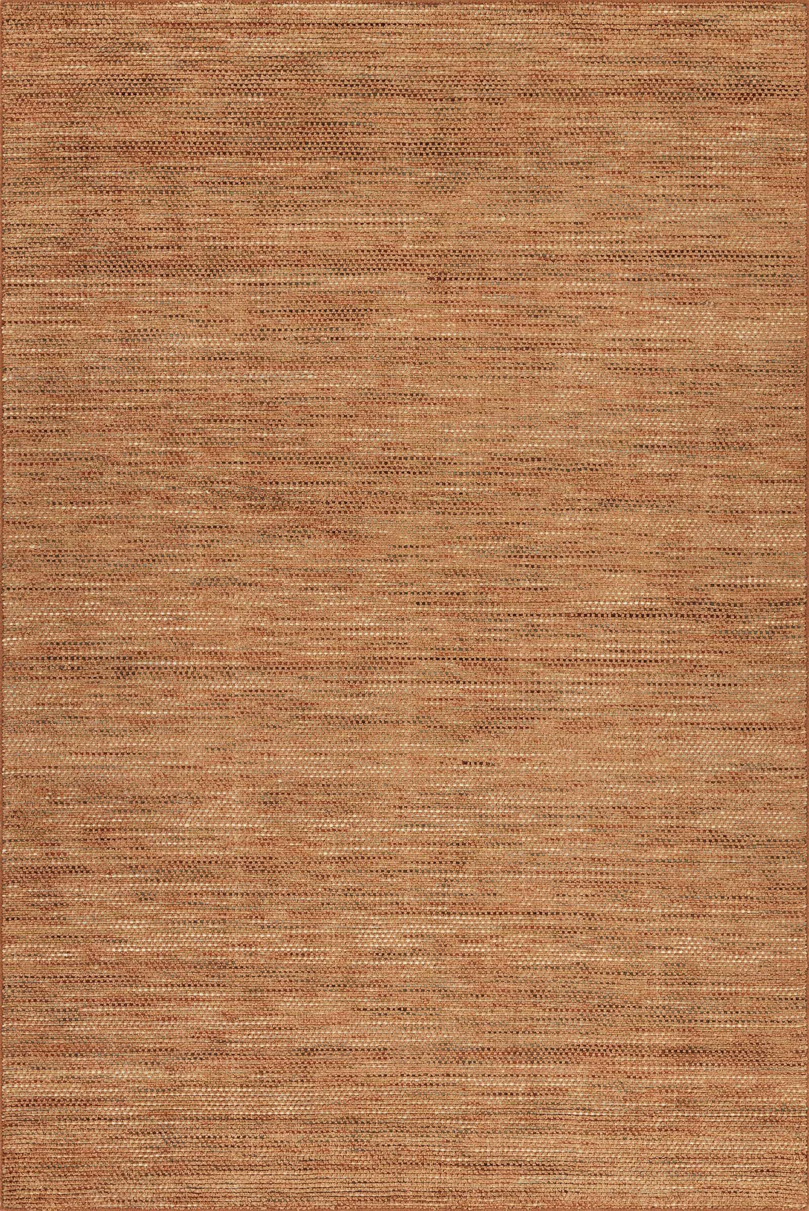 Minh Hand-Woven Spice Area Rug Rug Size: Rectangle 9' x 13'
