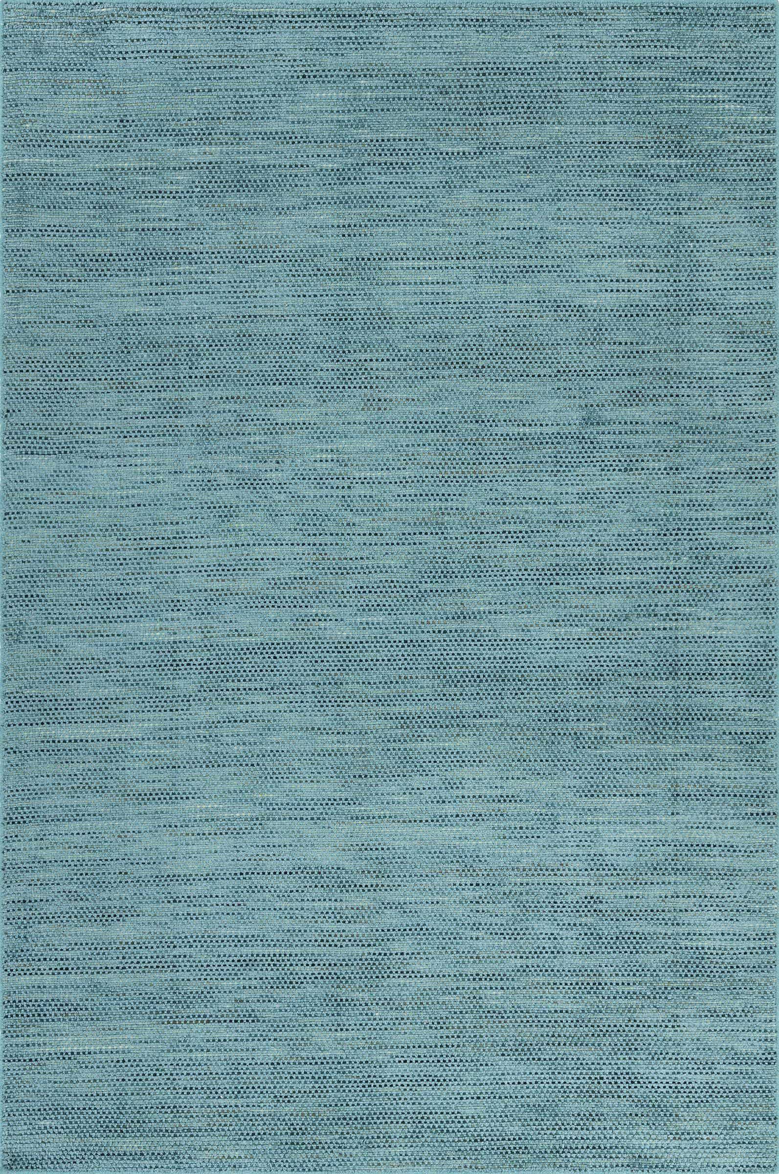 Minh Hand-Woven Teal Area Rug Rug Size: Rectangle 3'6