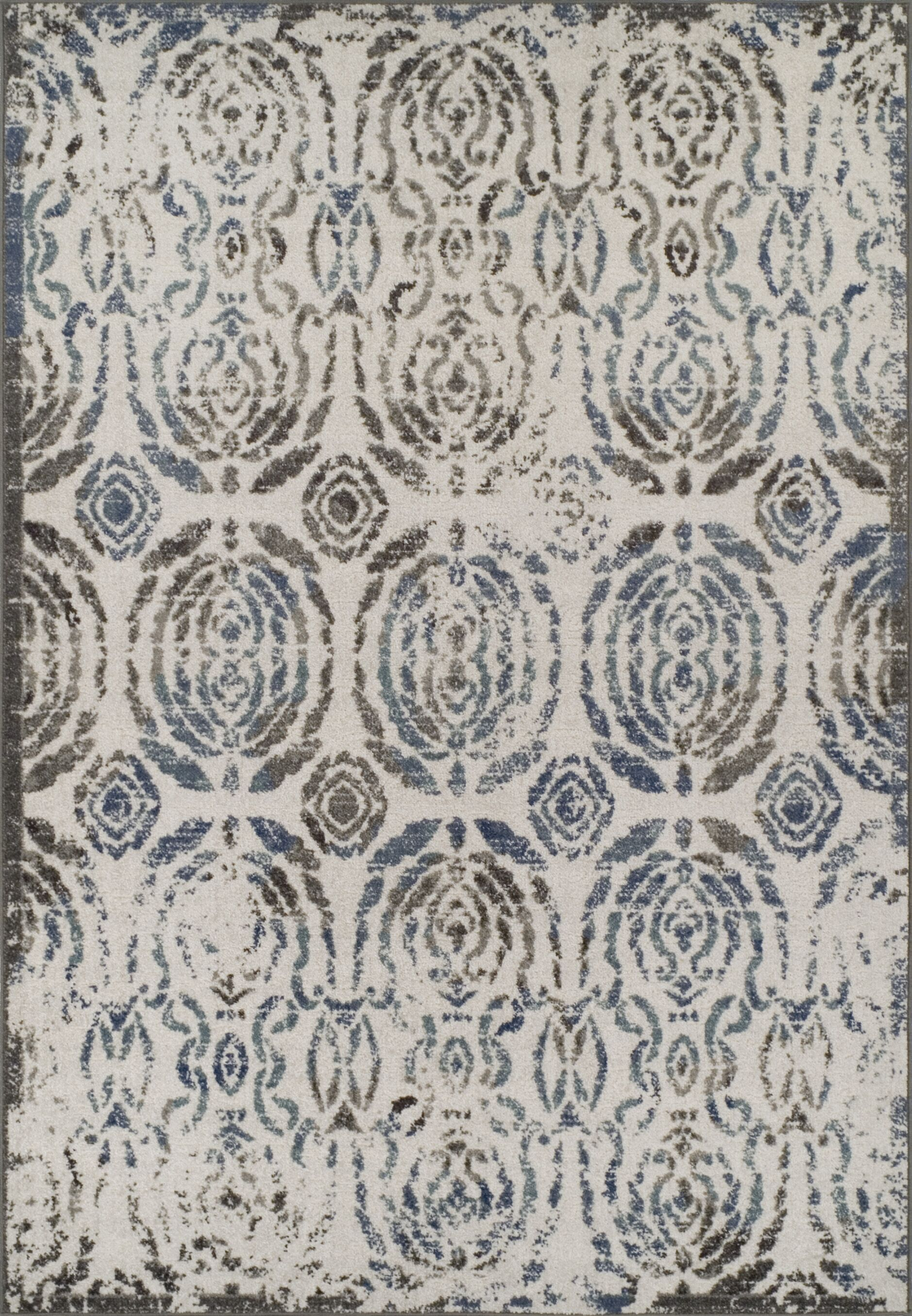 Hagopian Gray Area Rug Rug Size: Rectangle 7'10