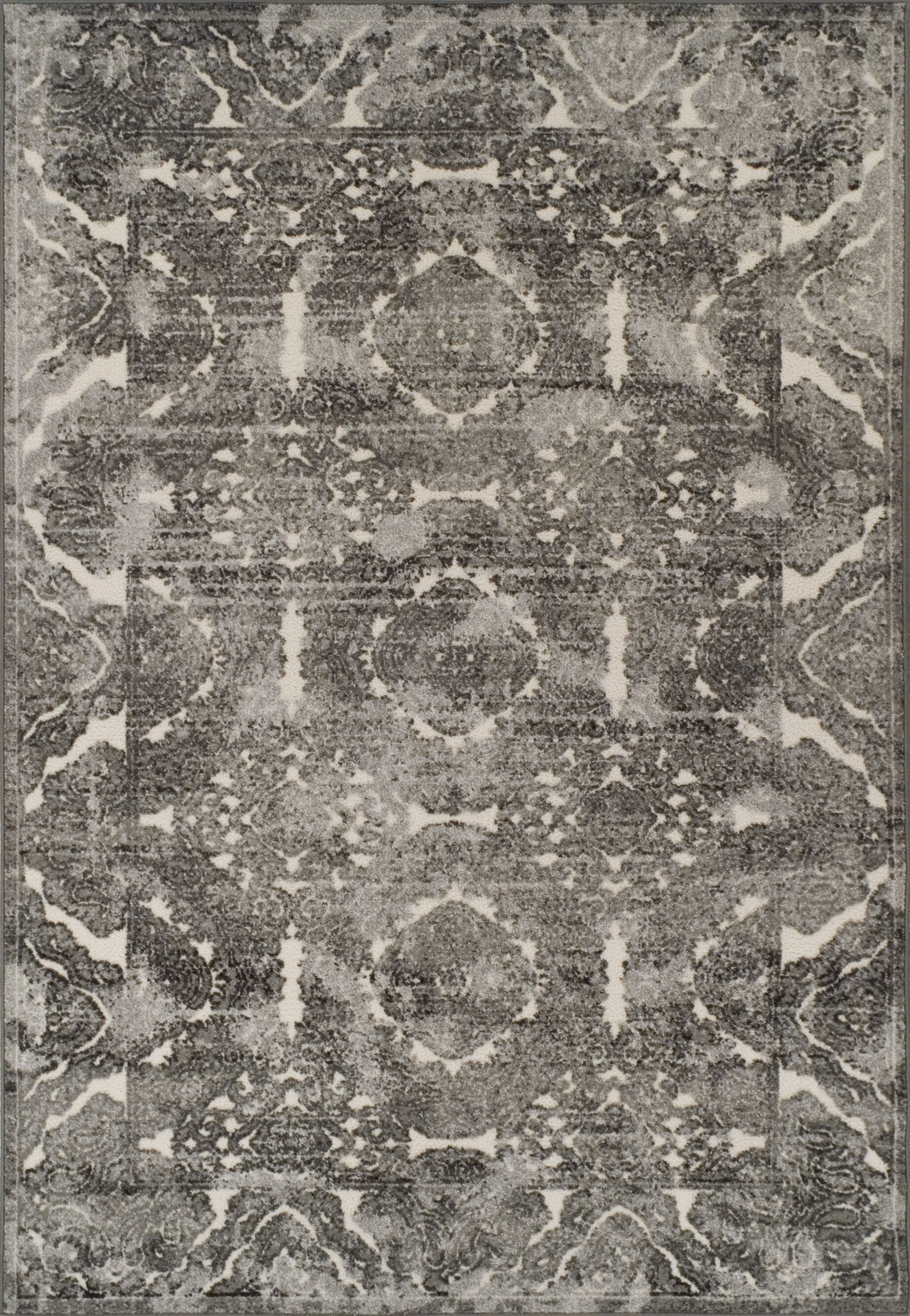 Hagopian Pewter Area Rug Rug Size: Rectangle 3'3