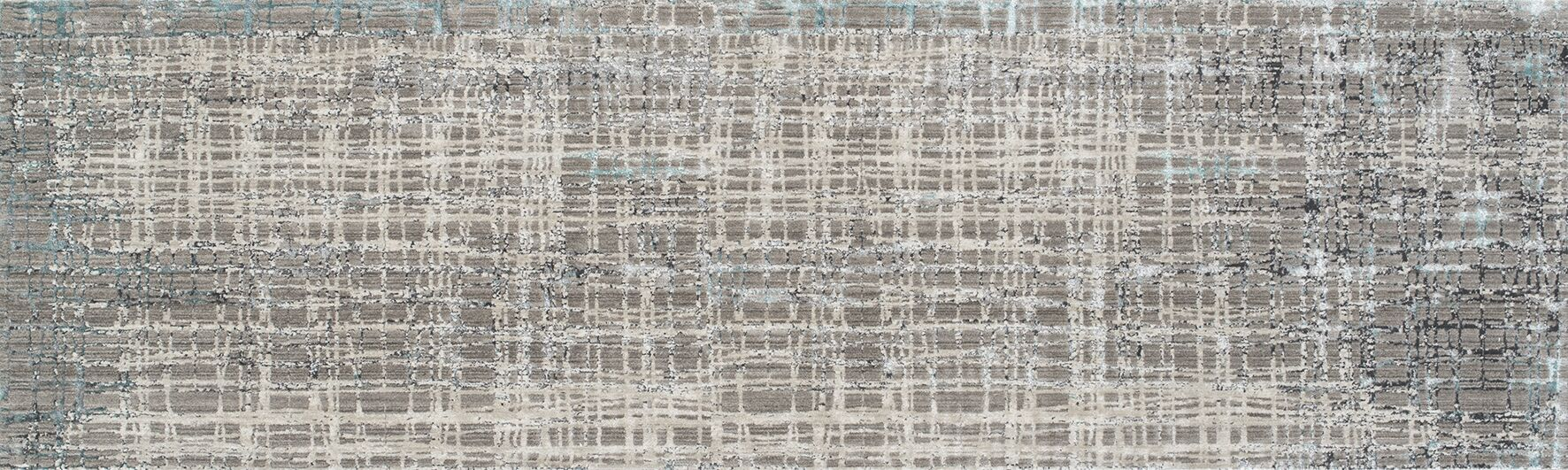 Grable Transitional Gray Area Rug Rug Size: Runner 2'6