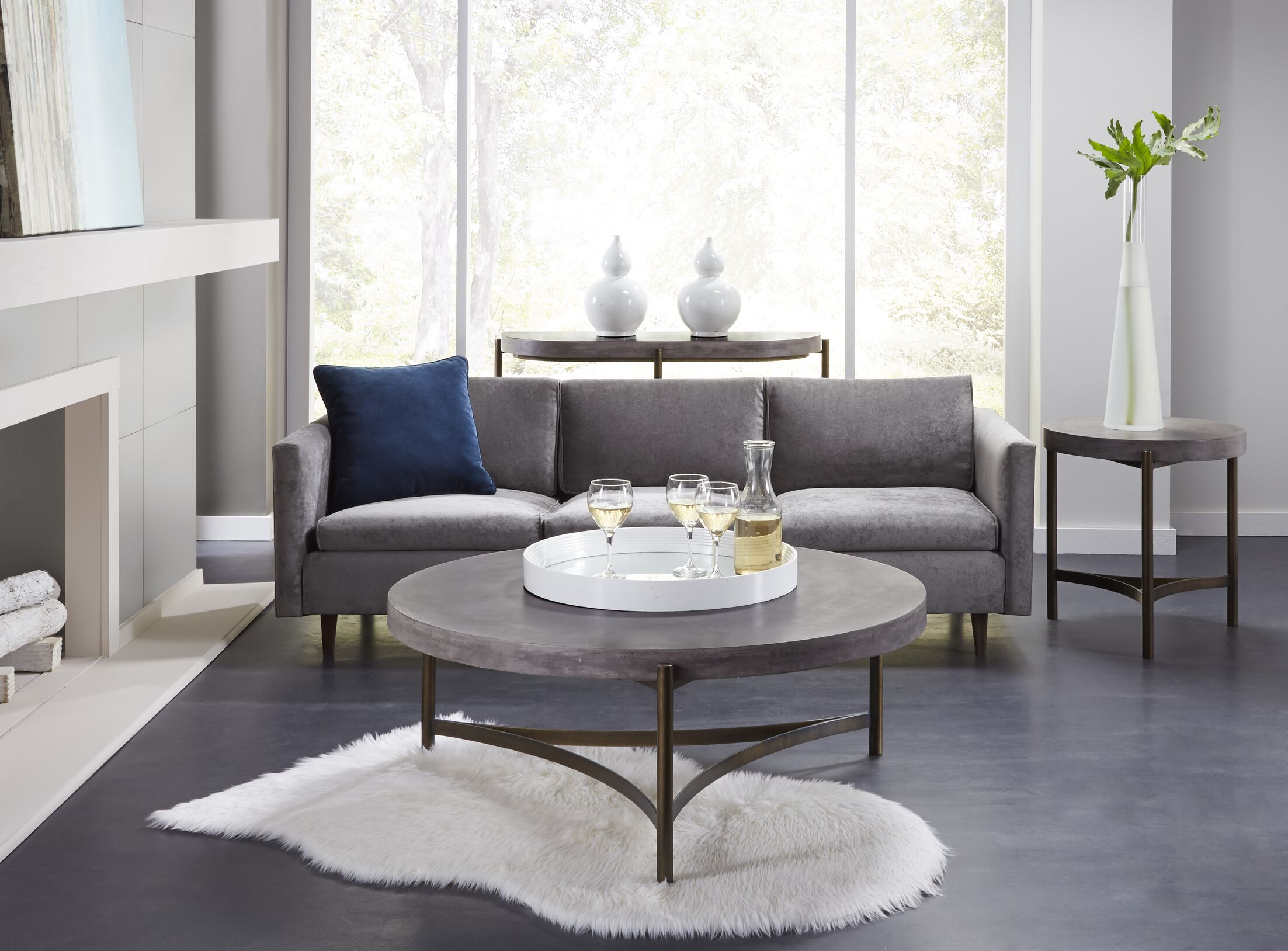 Dirksen 3 Piece Coffee Table Set