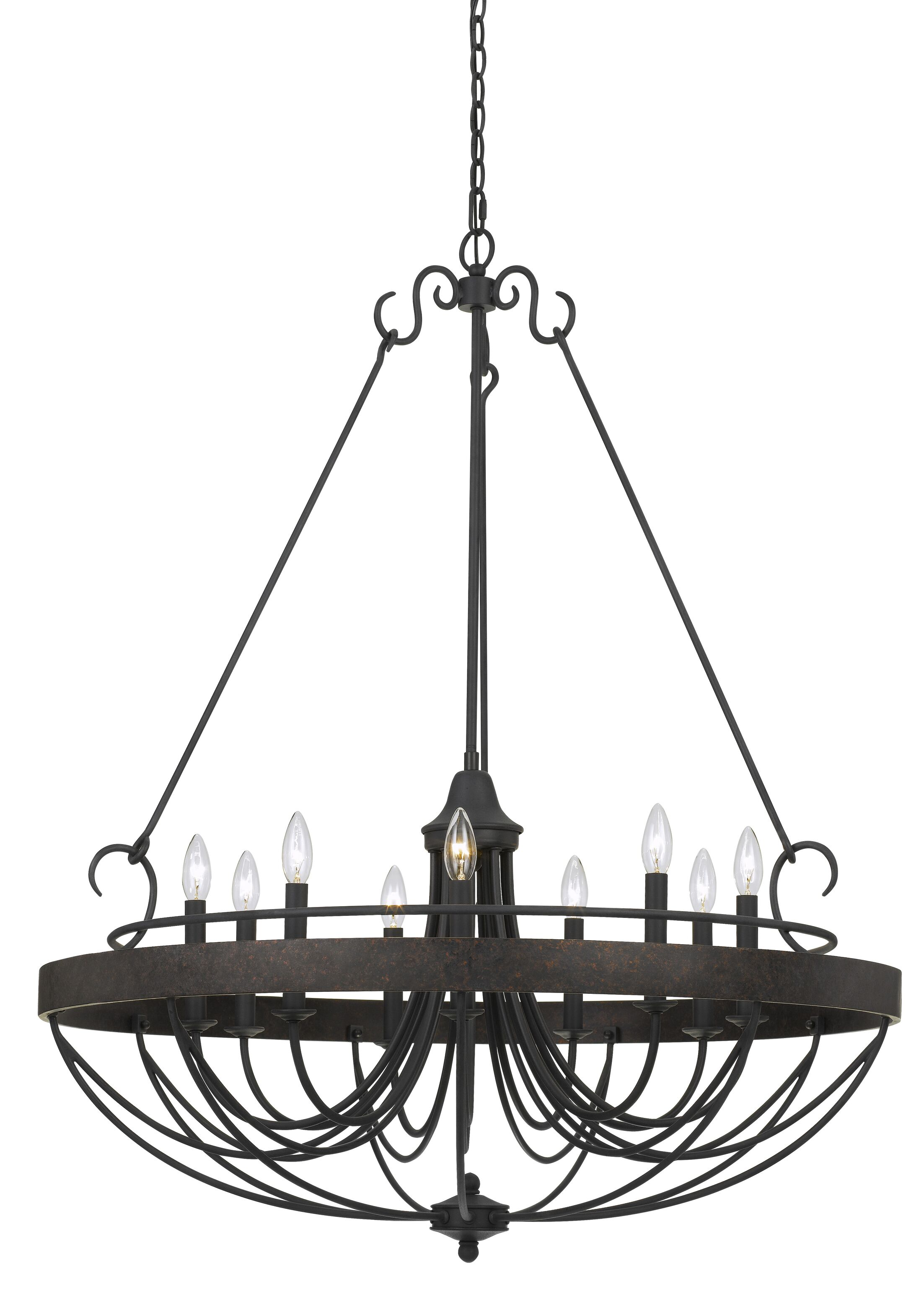 Beuvron 9-Light Candle Style Chandelier