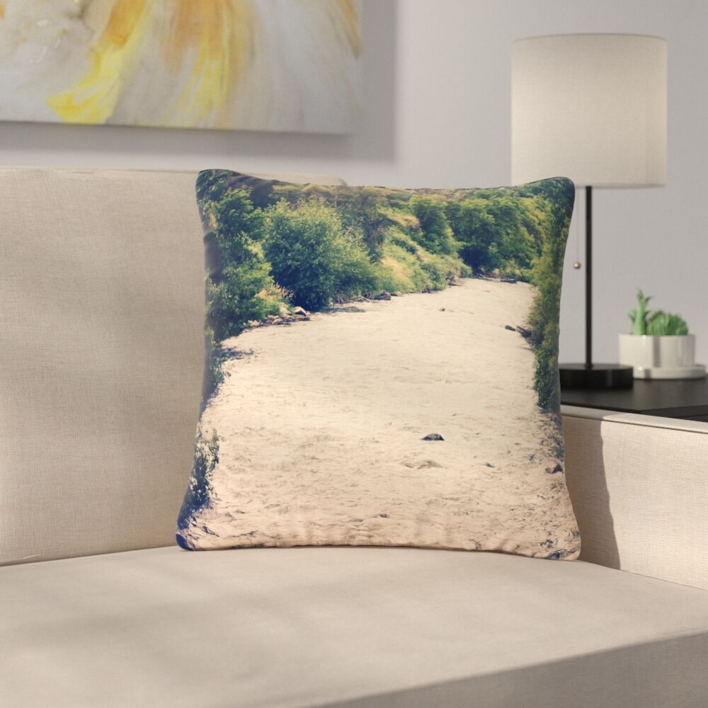 Sylvia Coomes Cold Stream Photography Outdoor Throw Pillow Size: 16