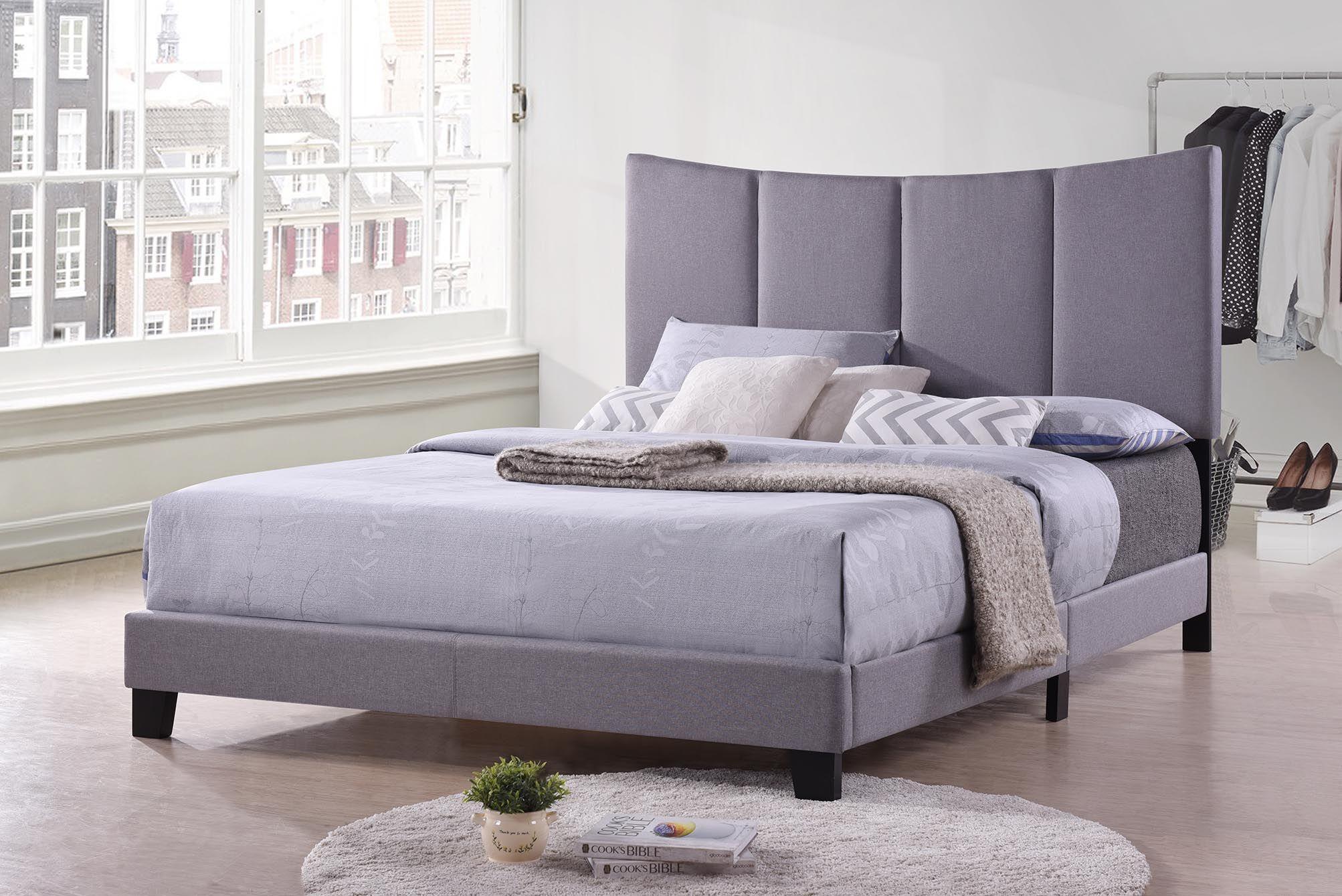 Millar Upholstered Panel Bed Size: King