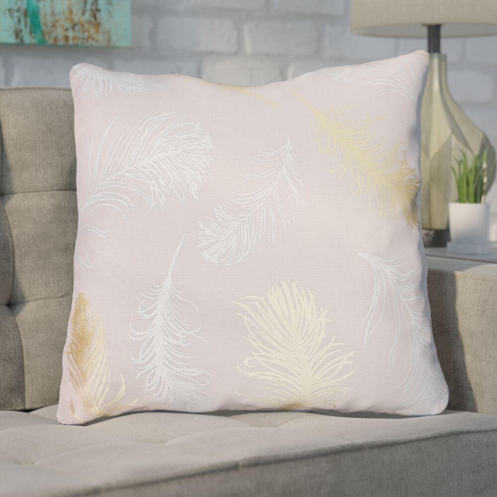 Shanon Throw Pillow Color: Rose