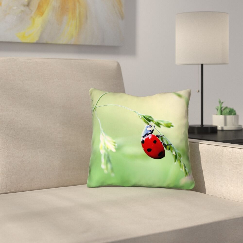 Duriel Double Sided Print 100% Cotton Throw Pillow Size: 20