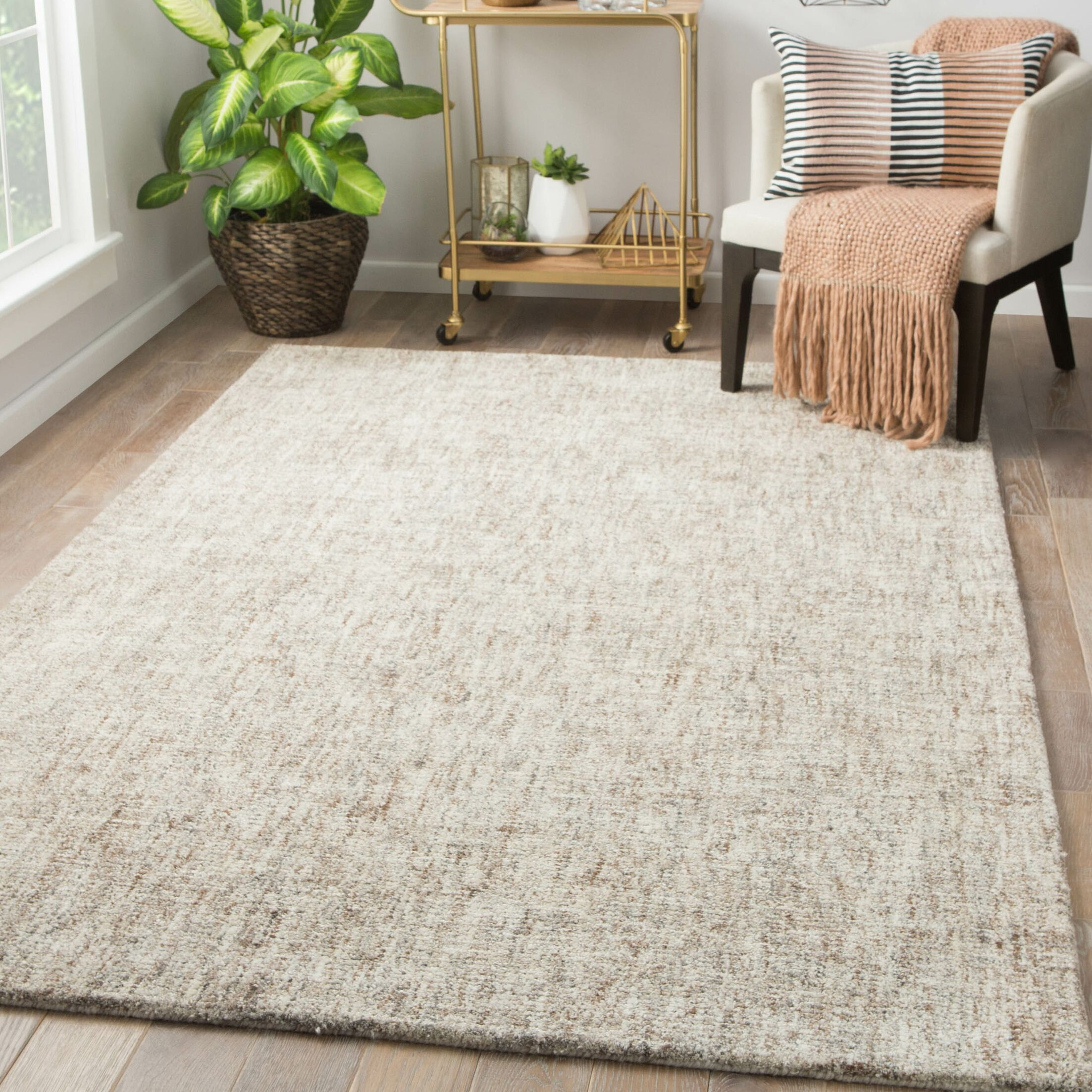 Widger Hand-Tufted Angora/Monk's Robe Area Rug Rug Size: Rectangle 5' x 8'