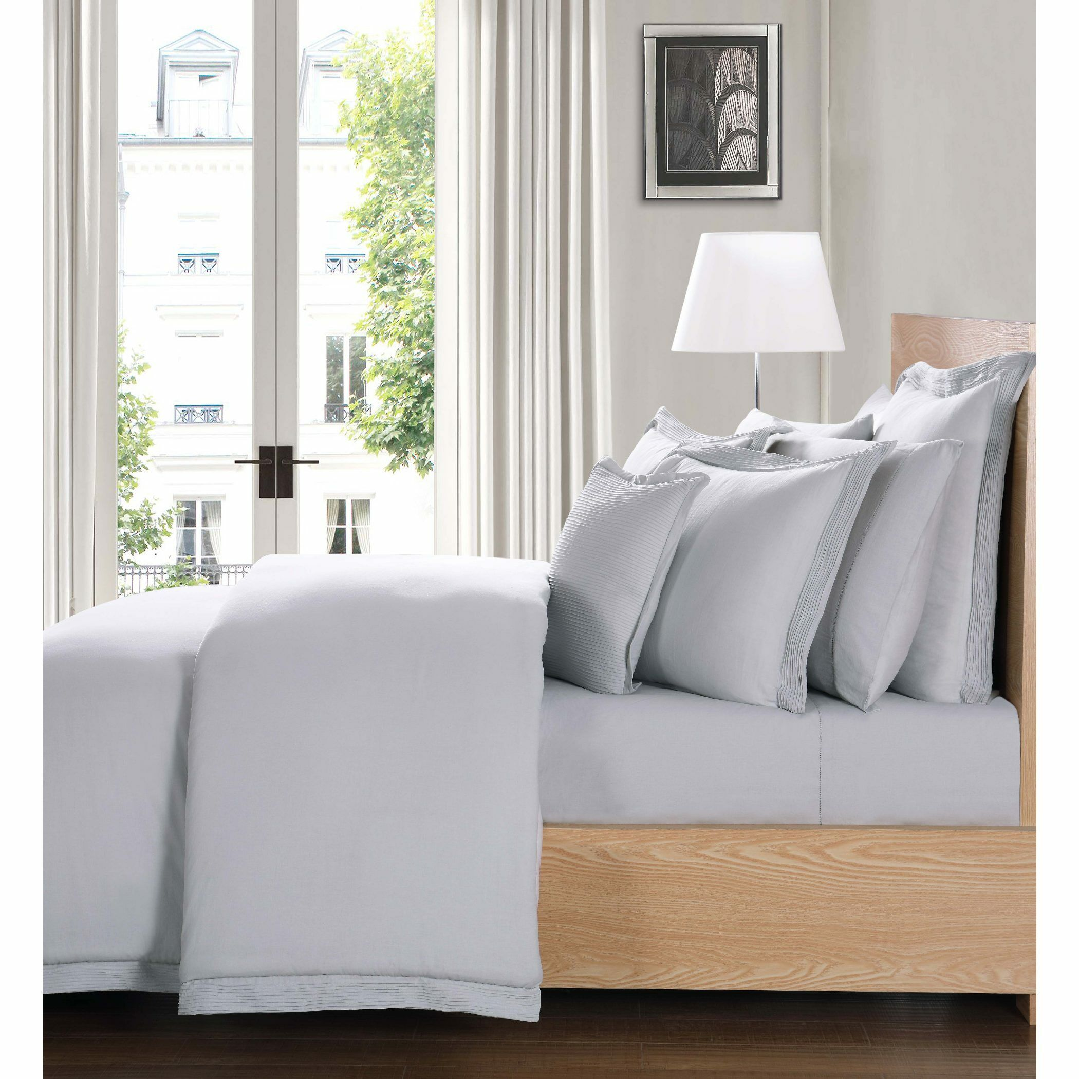 Luxe 300 Thread Count Sheet Set Color: Gray, Size: California King