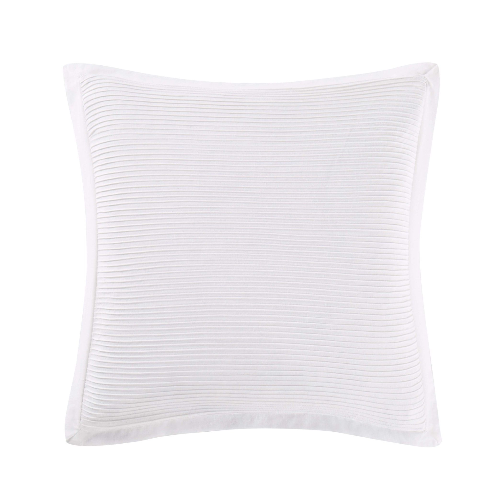 Luxe Throw Pillow Color: White