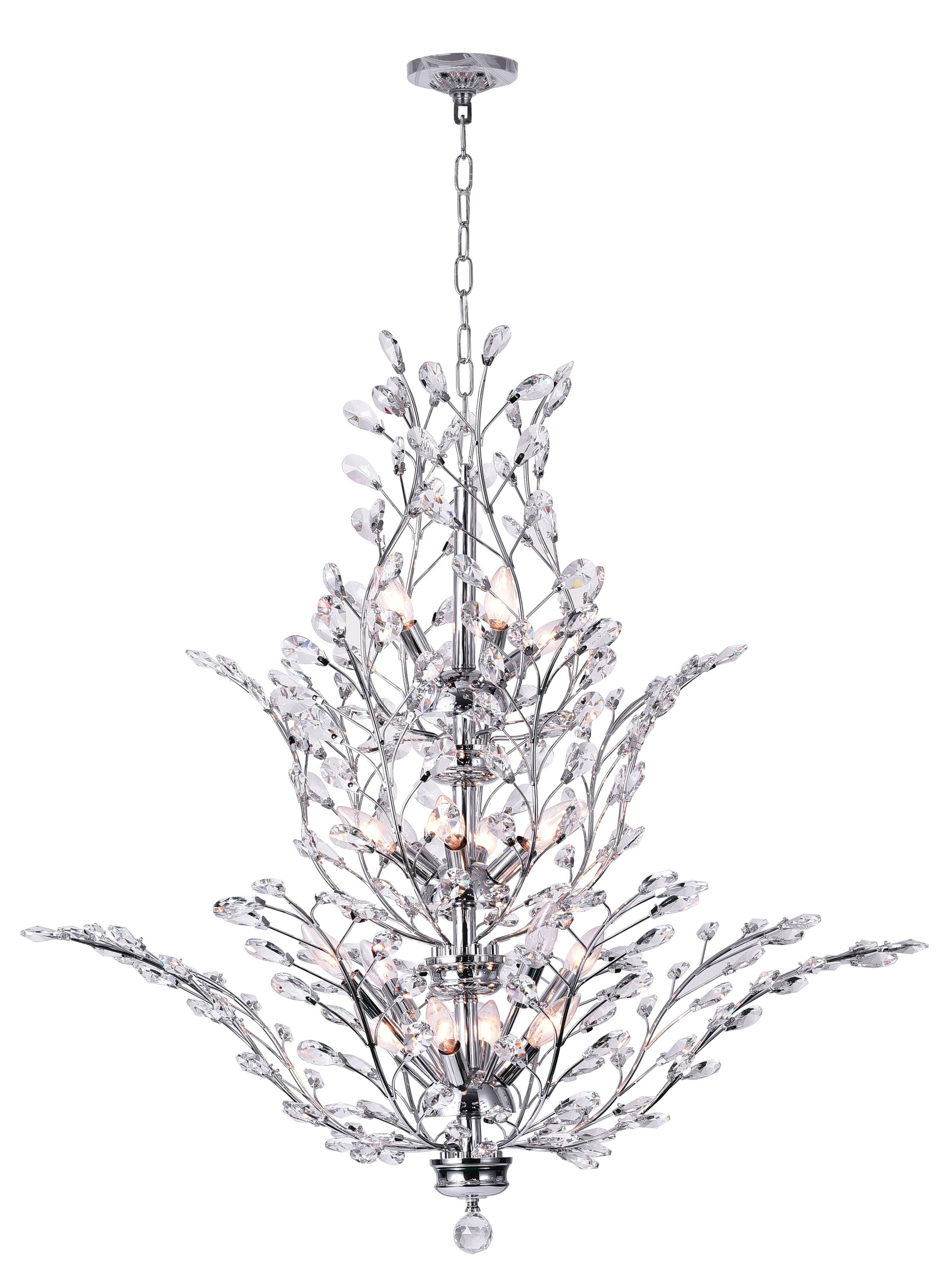 Ivy 18-Light Candle Style Chandelier