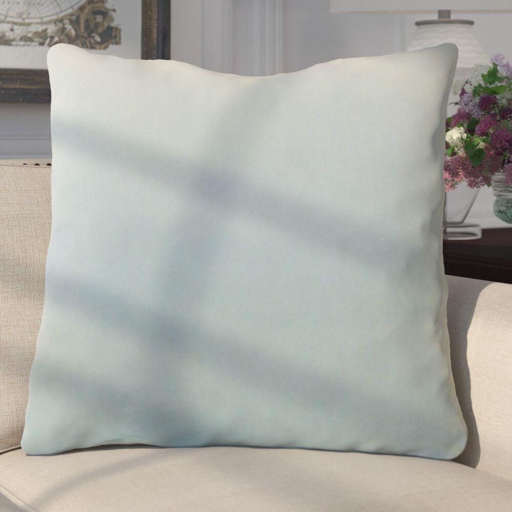 Aveneil Solid Floor Pillow Color: Sky Blue