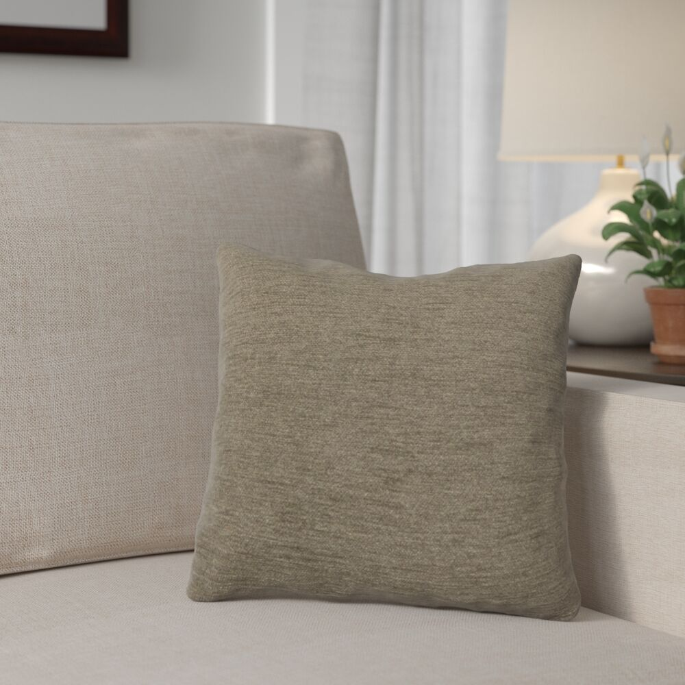 Danin Outdoor Throw Pillow Size: Small, Color: Patina