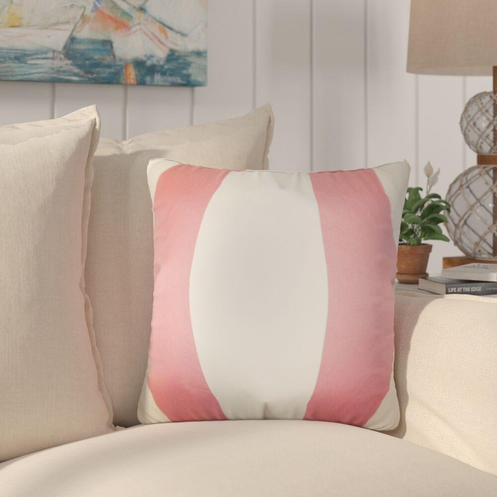 Ellsberg Stripes Cotton Throw Pillow