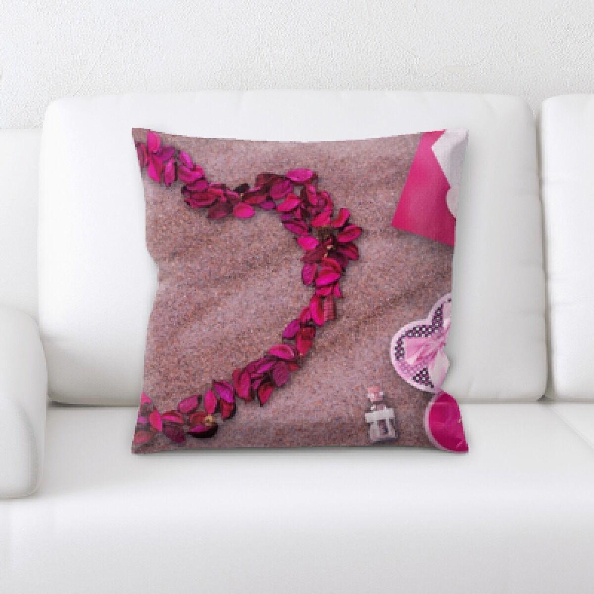 Botsford Love Shape Throw Pillow