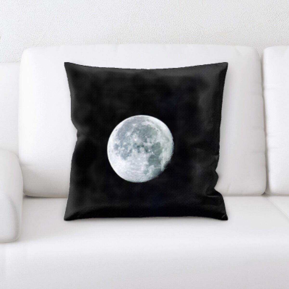 Brust Moon Throw Pillow