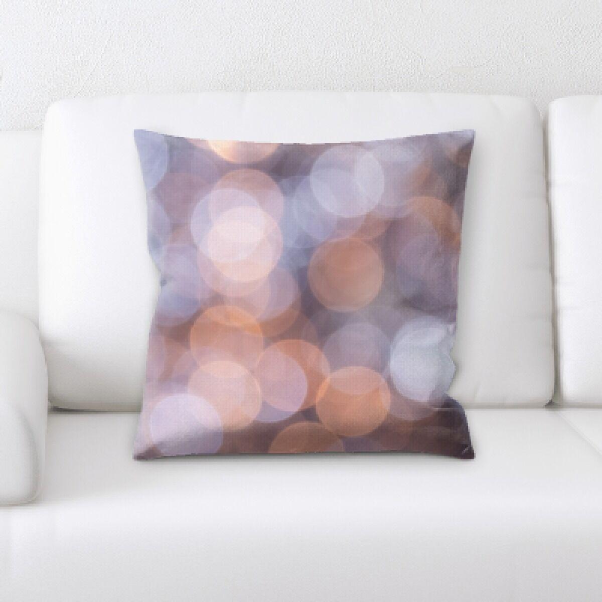Falgout Abstract Textures Throw Pillow