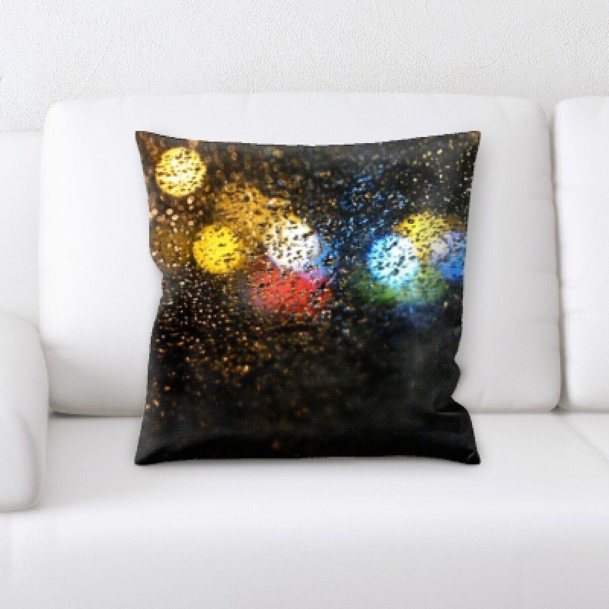 Burse Abstract Textures Throw Pillow