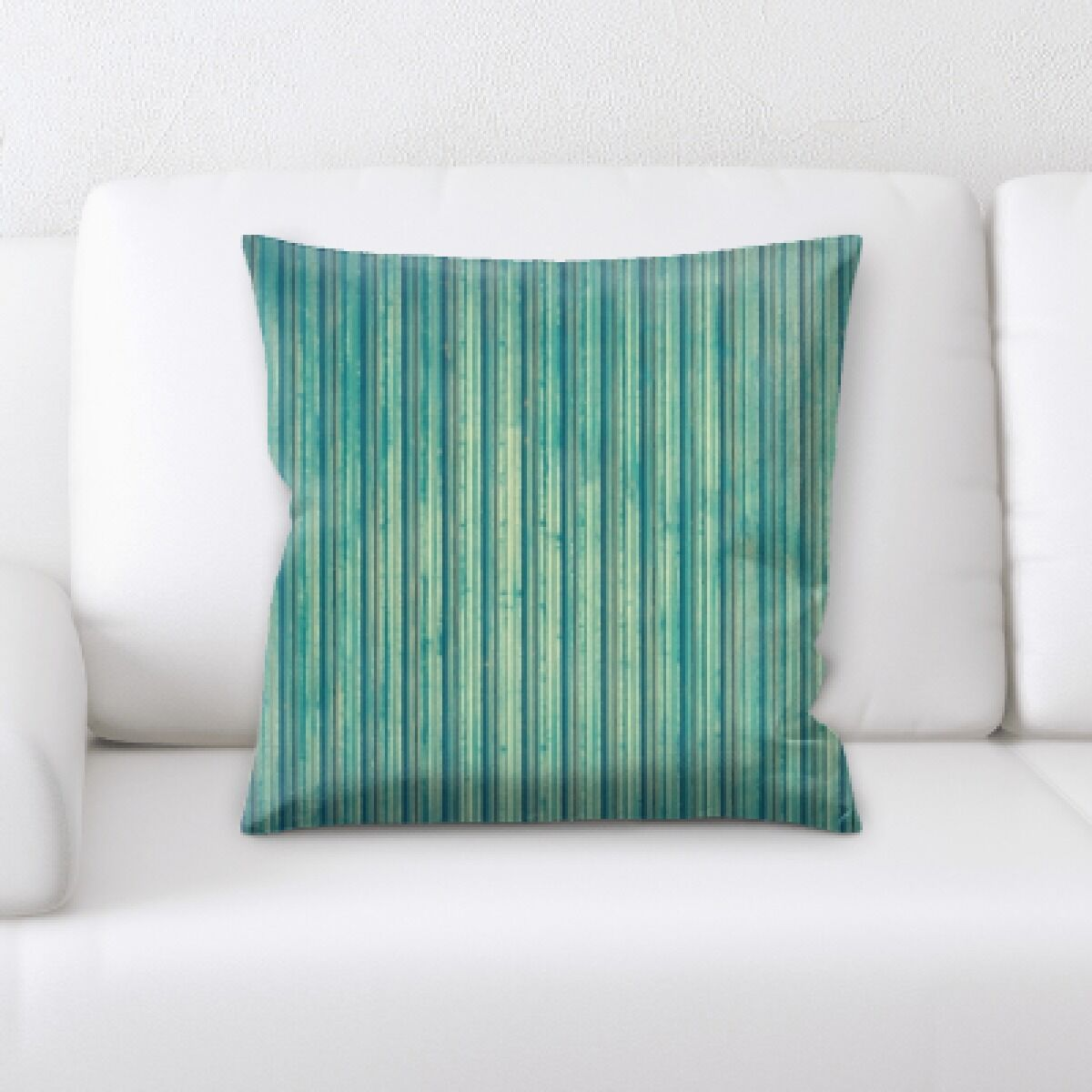 Camptown Wooden Textures Throw Pillow