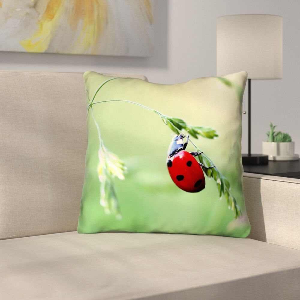 Duriel Double Sided Print Throw Pillow Size: 16