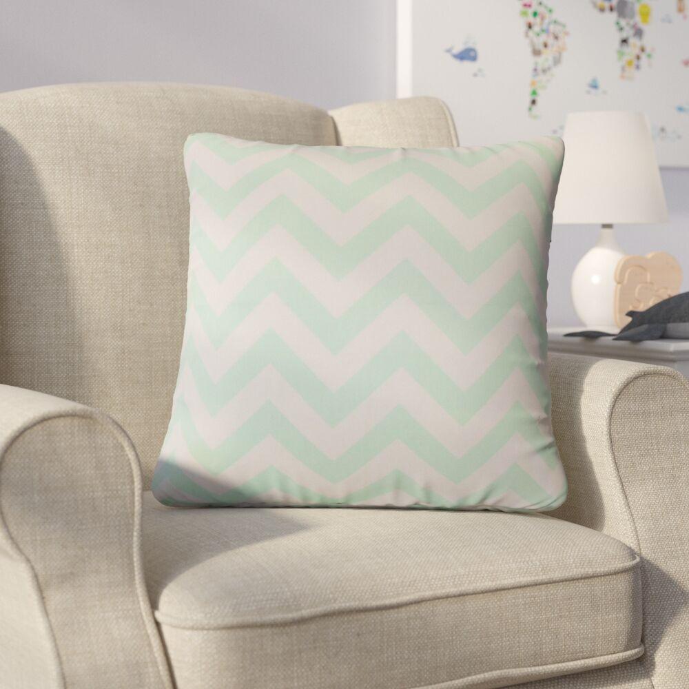 Bailor Zigzag Cotton Throw Pillow