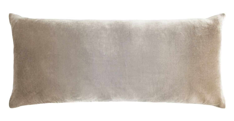 Ombre Large Velvet Boudoir Pillow Color: Coyote, Size: 16