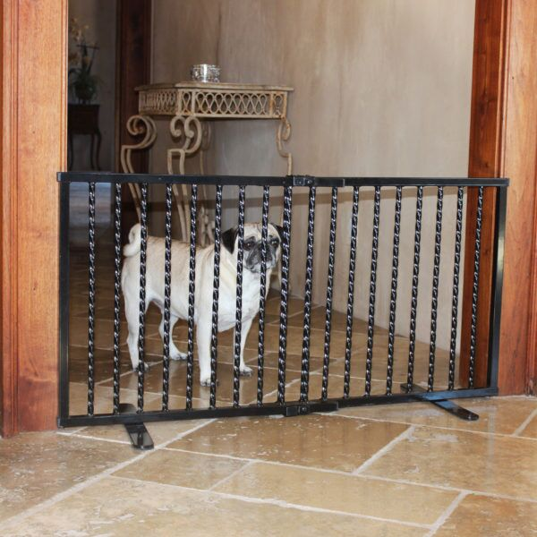 Step Over Freestanding Pet Gate Finish: Black