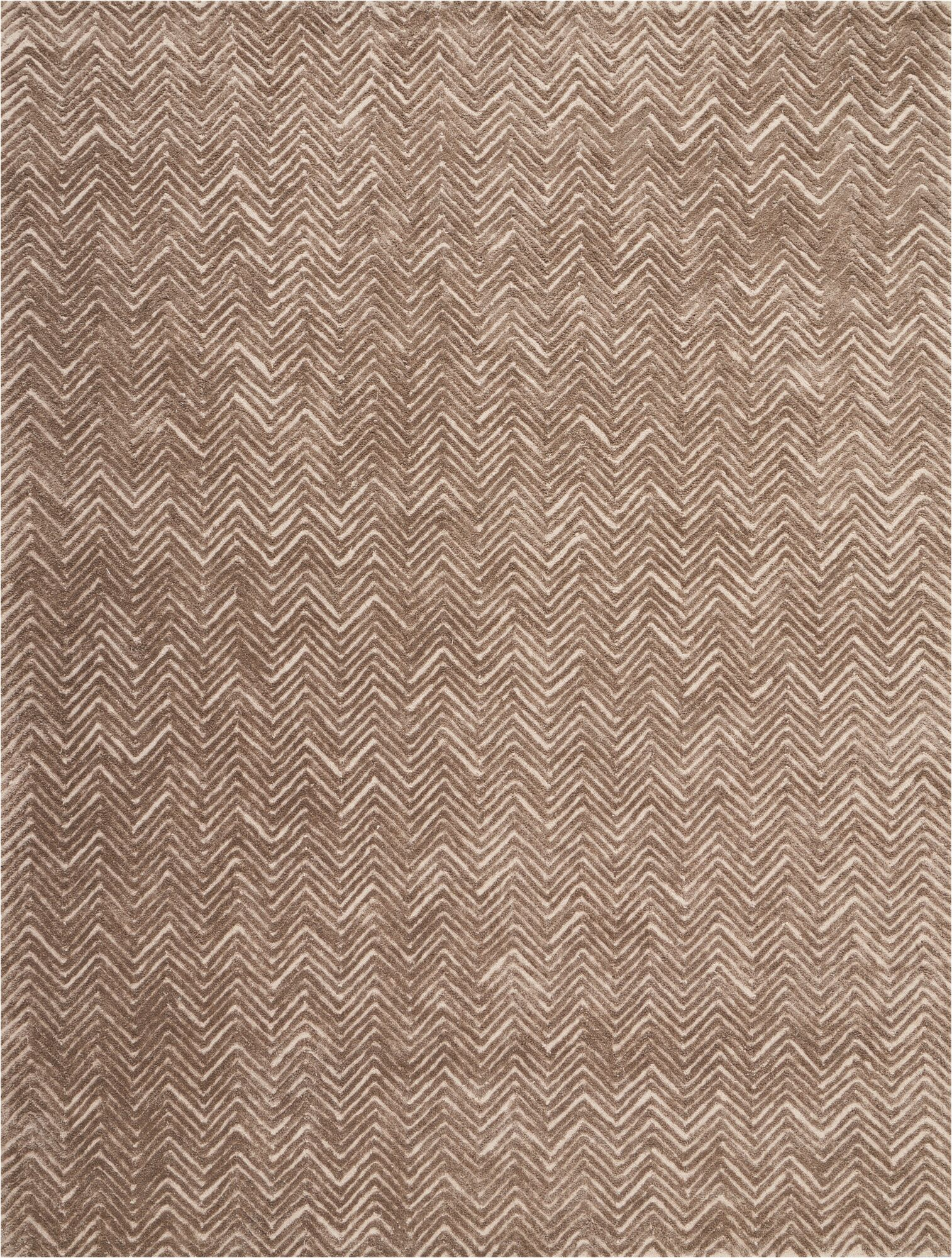 Manuel Deco Hand-Tufted Taupe Area Rug Rug Size: Rectangle 8' x 10'6
