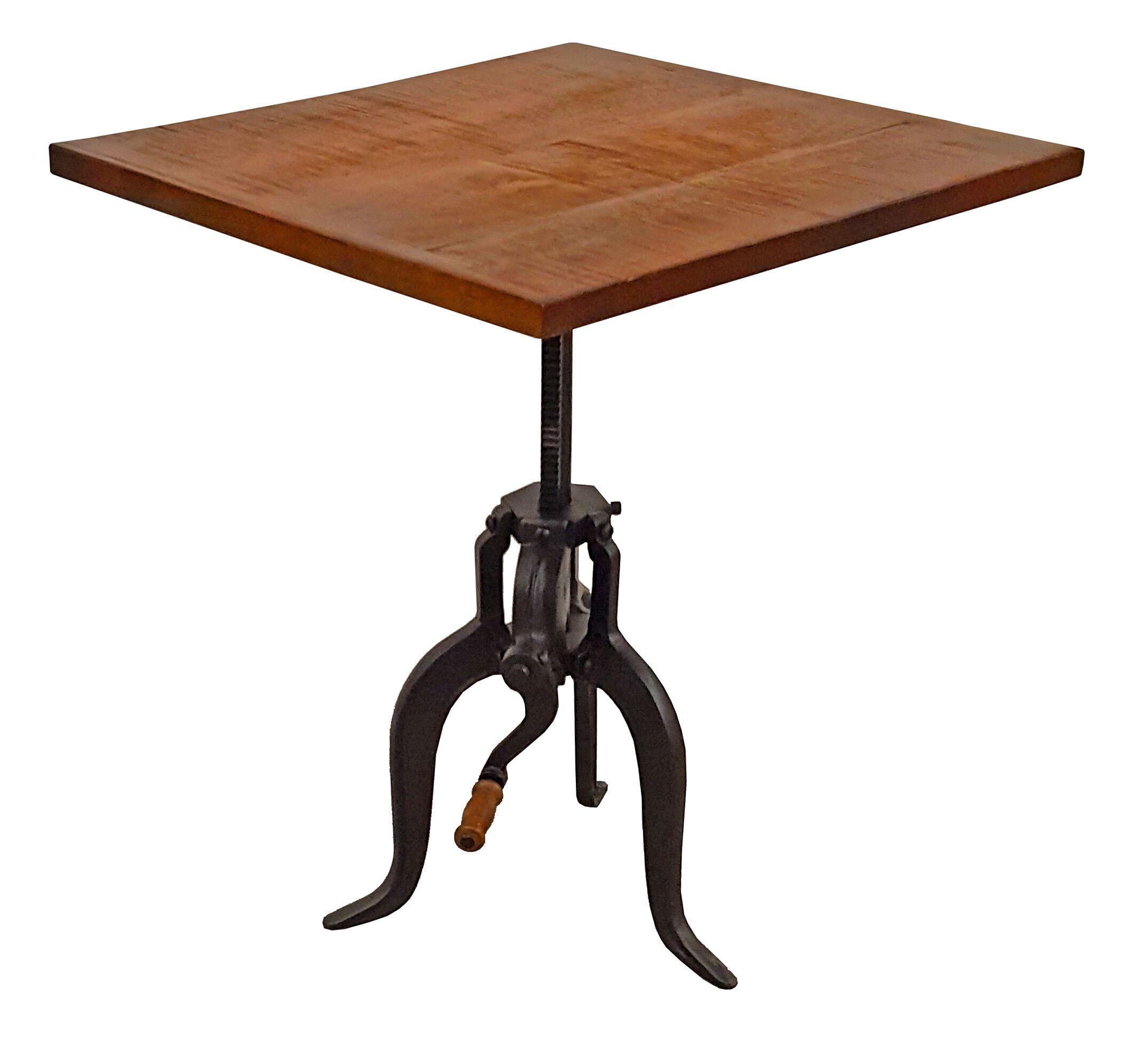 Wiedman Adjustable Height End Table
