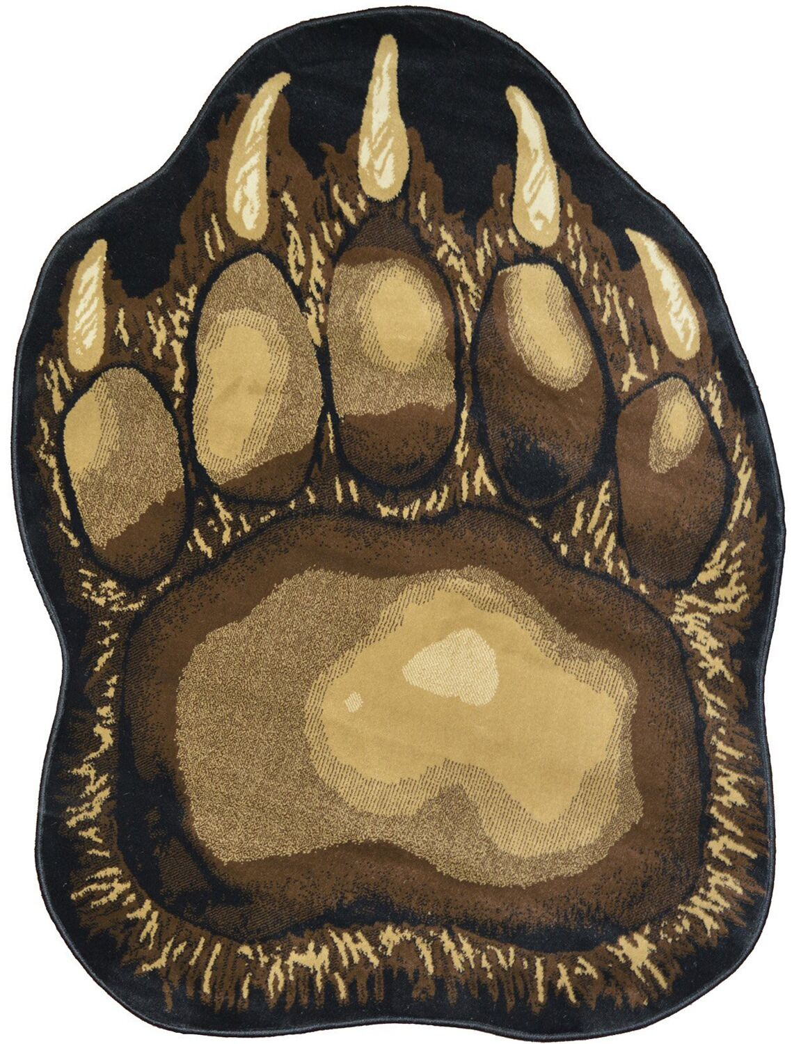 Windsor Lane Bear Trail Brown Area Rug Rug Size: Rectangle 5' x 7'