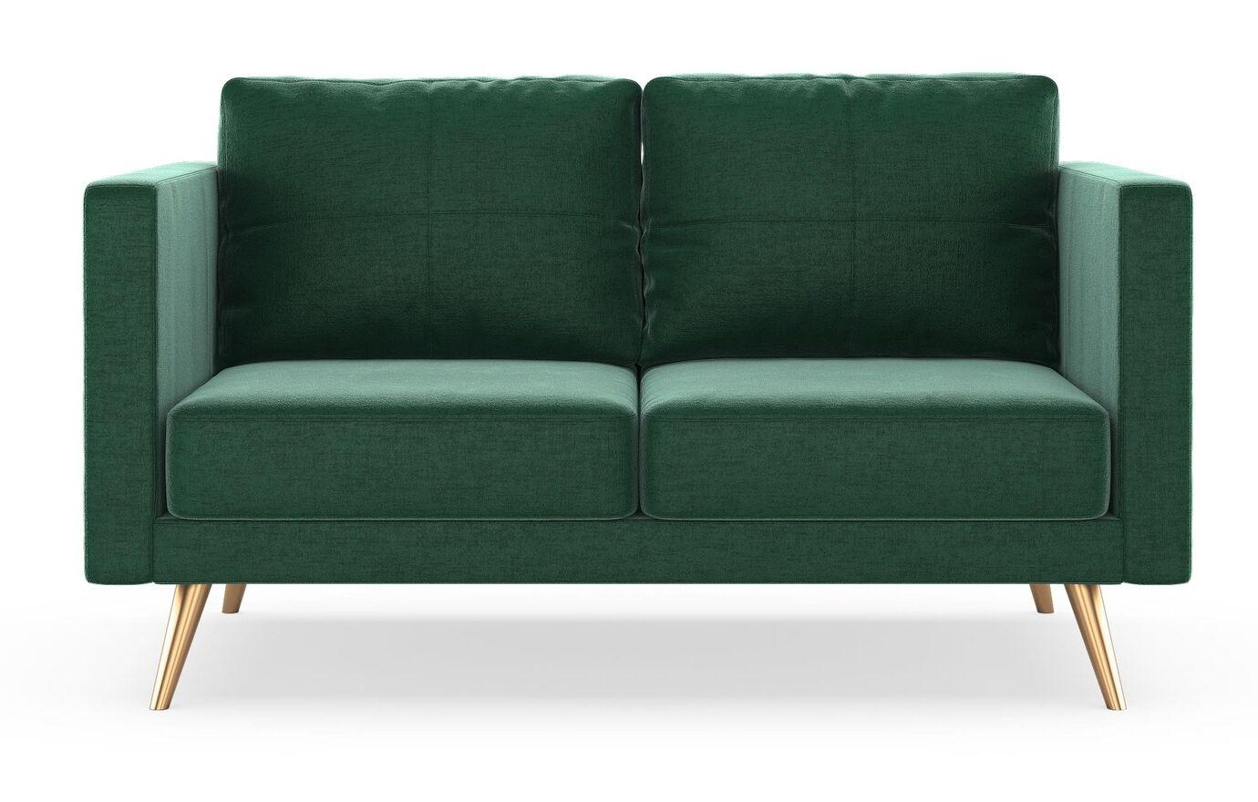 Rundell Loveseat Finish: Chrome, Upholstery: Steel Blue